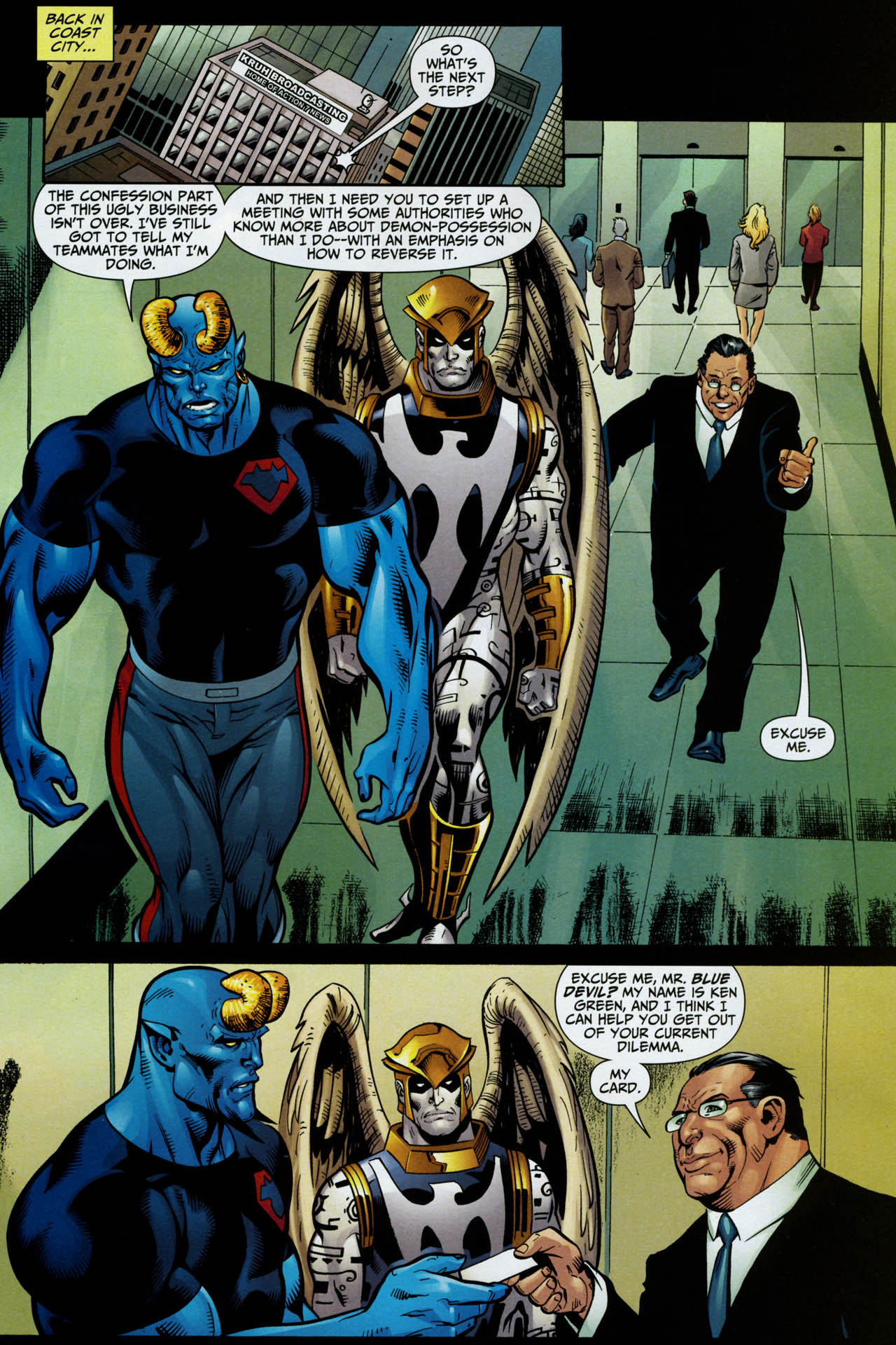 Read online Shadowpact comic -  Issue #14 - 15