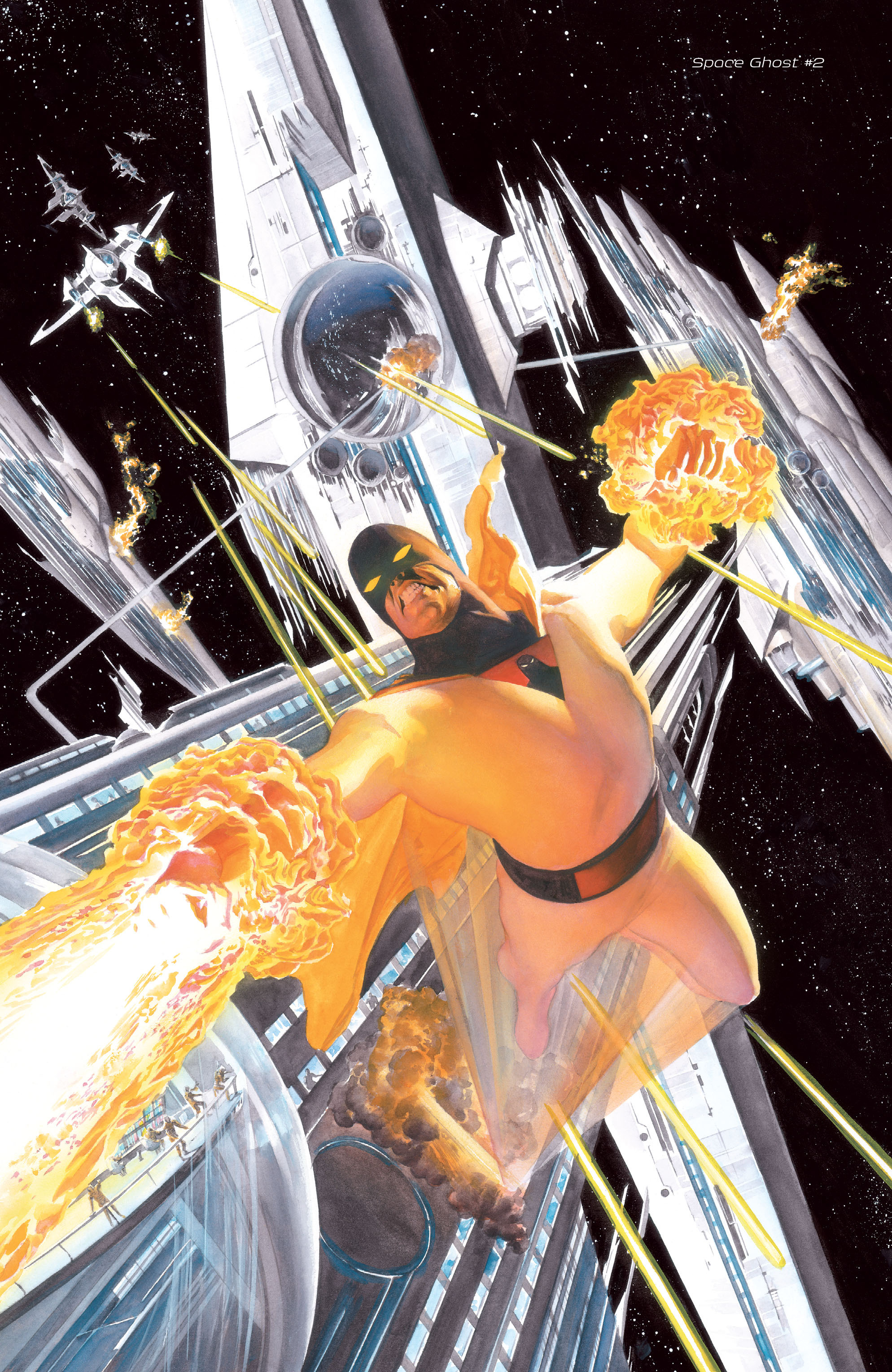 Read online Space Ghost (2016) comic -  Issue # Full - 136