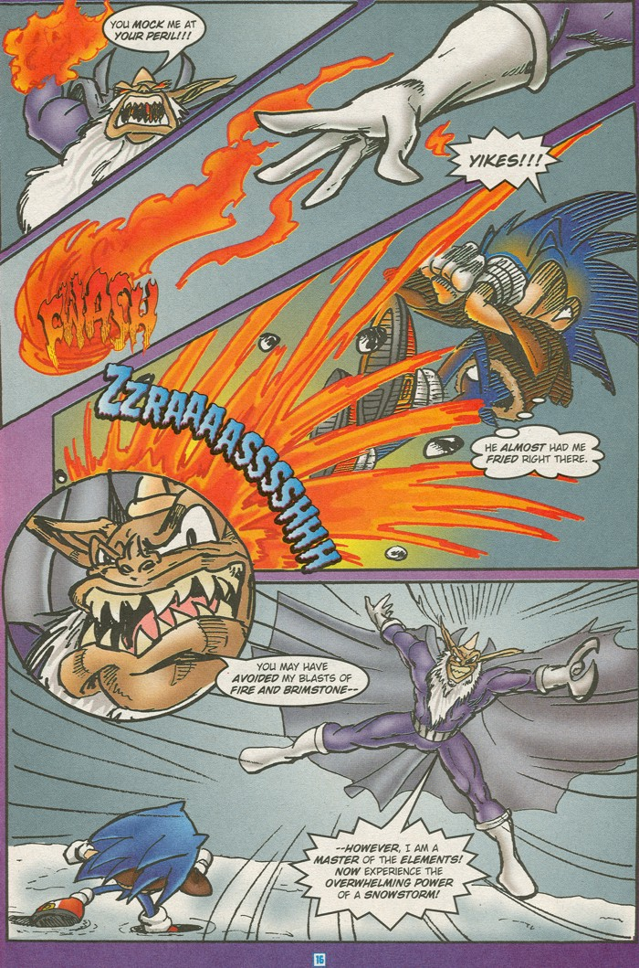 Read online Sonic Super Special comic -  Issue #15 - Naugus games - 19