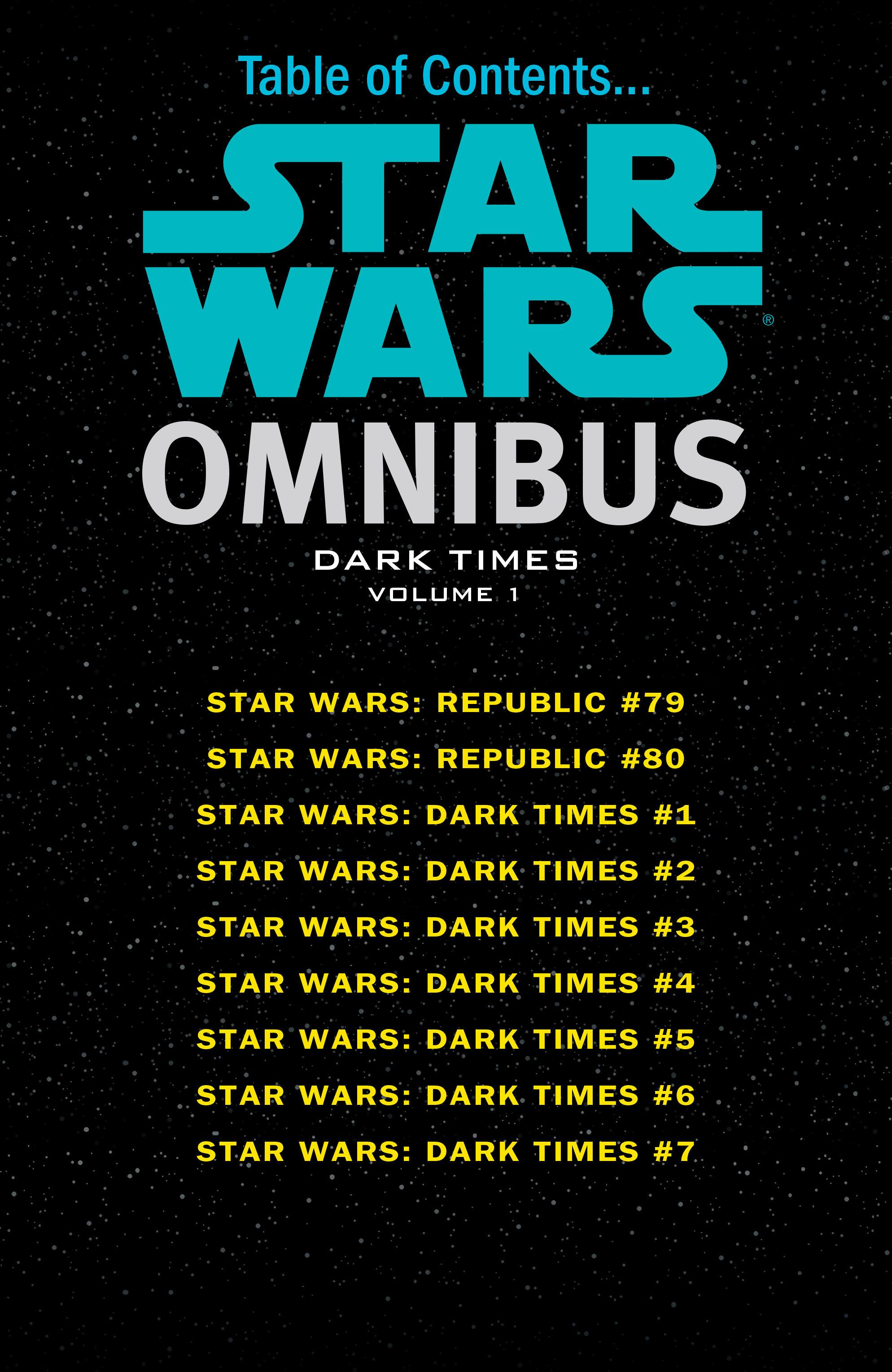 Read online Star Wars Omnibus comic -  Issue # Vol. 31 - 3