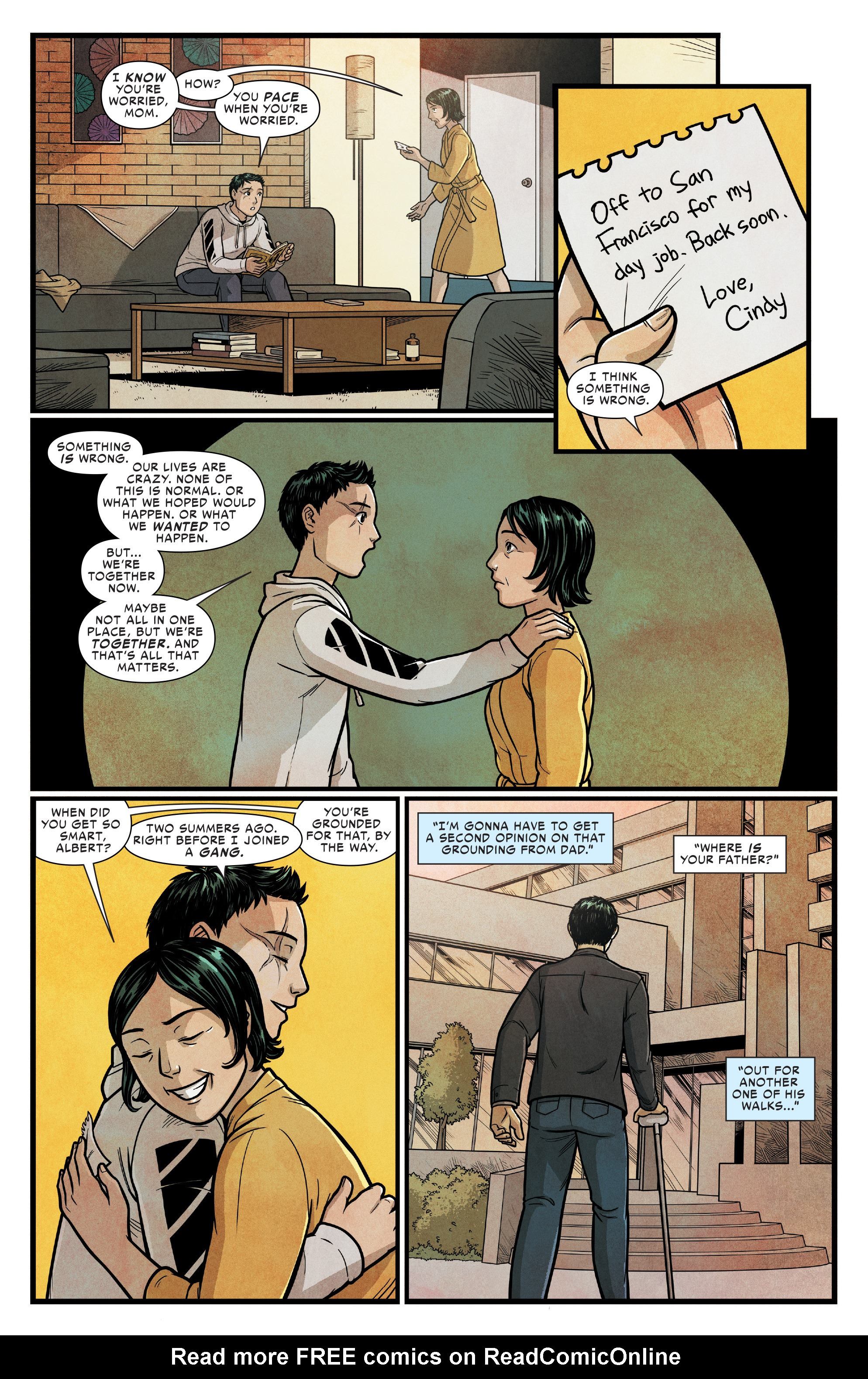 Read online Silk (2016) comic -  Issue #14 - 14