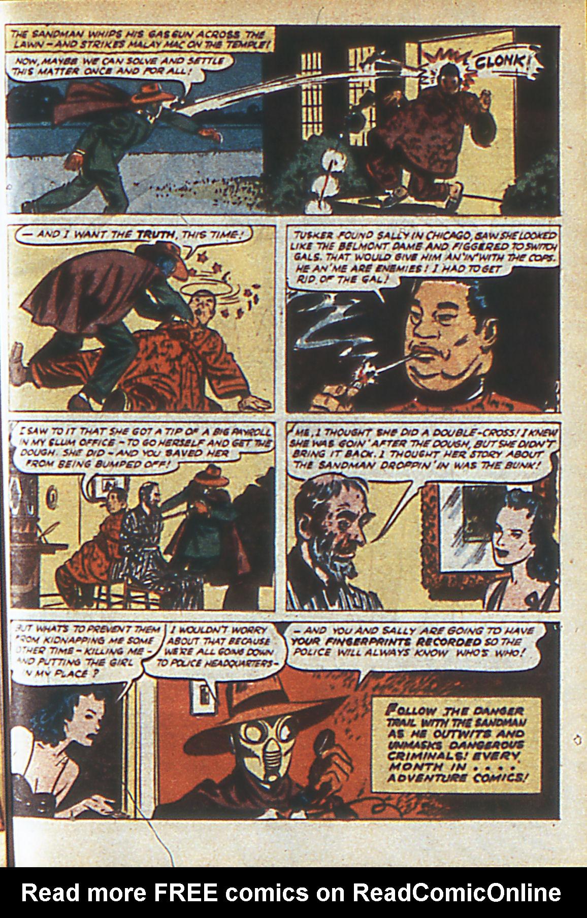 Read online Adventure Comics (1938) comic -  Issue #60 - 66