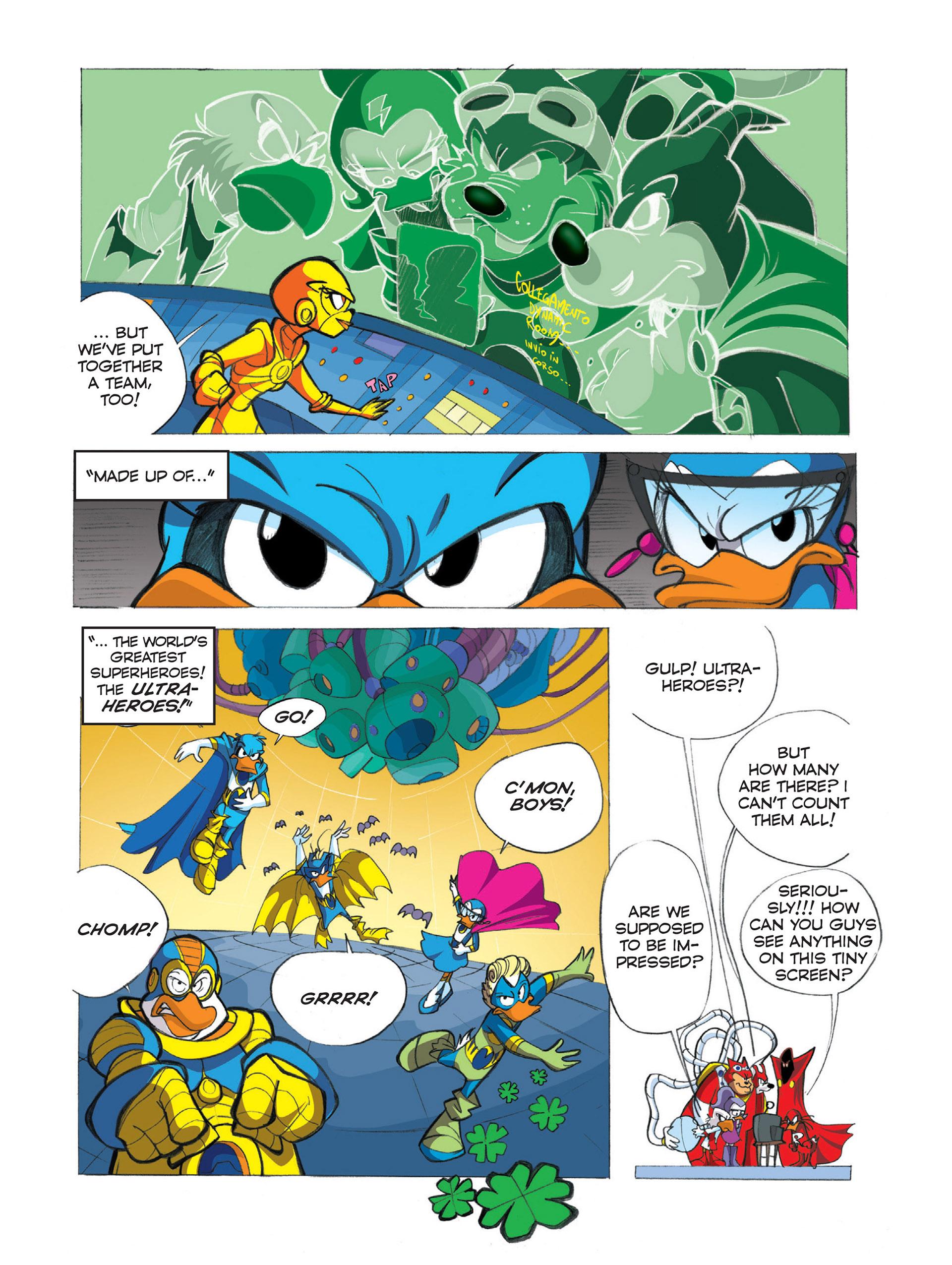 Read online Ultraheroes comic -  Issue #2 - 9