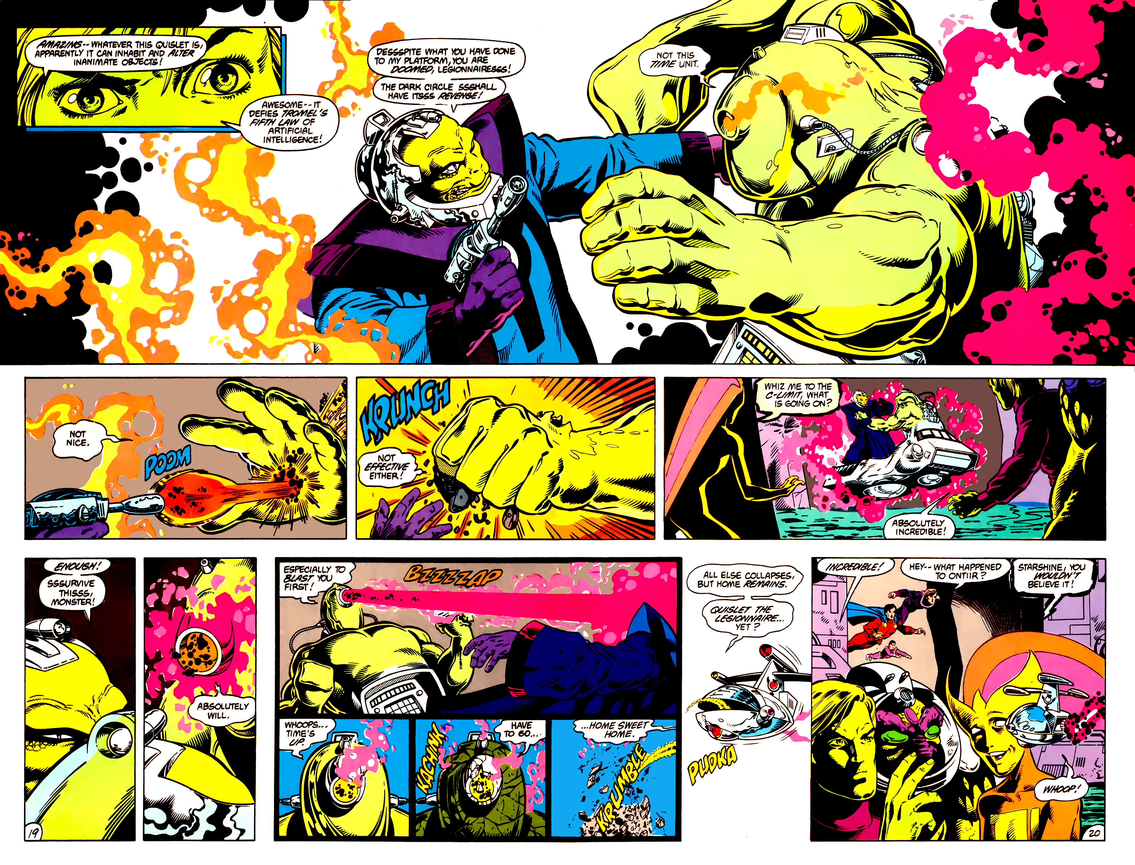 Legion of Super-Heroes (1984) 14 Page 20