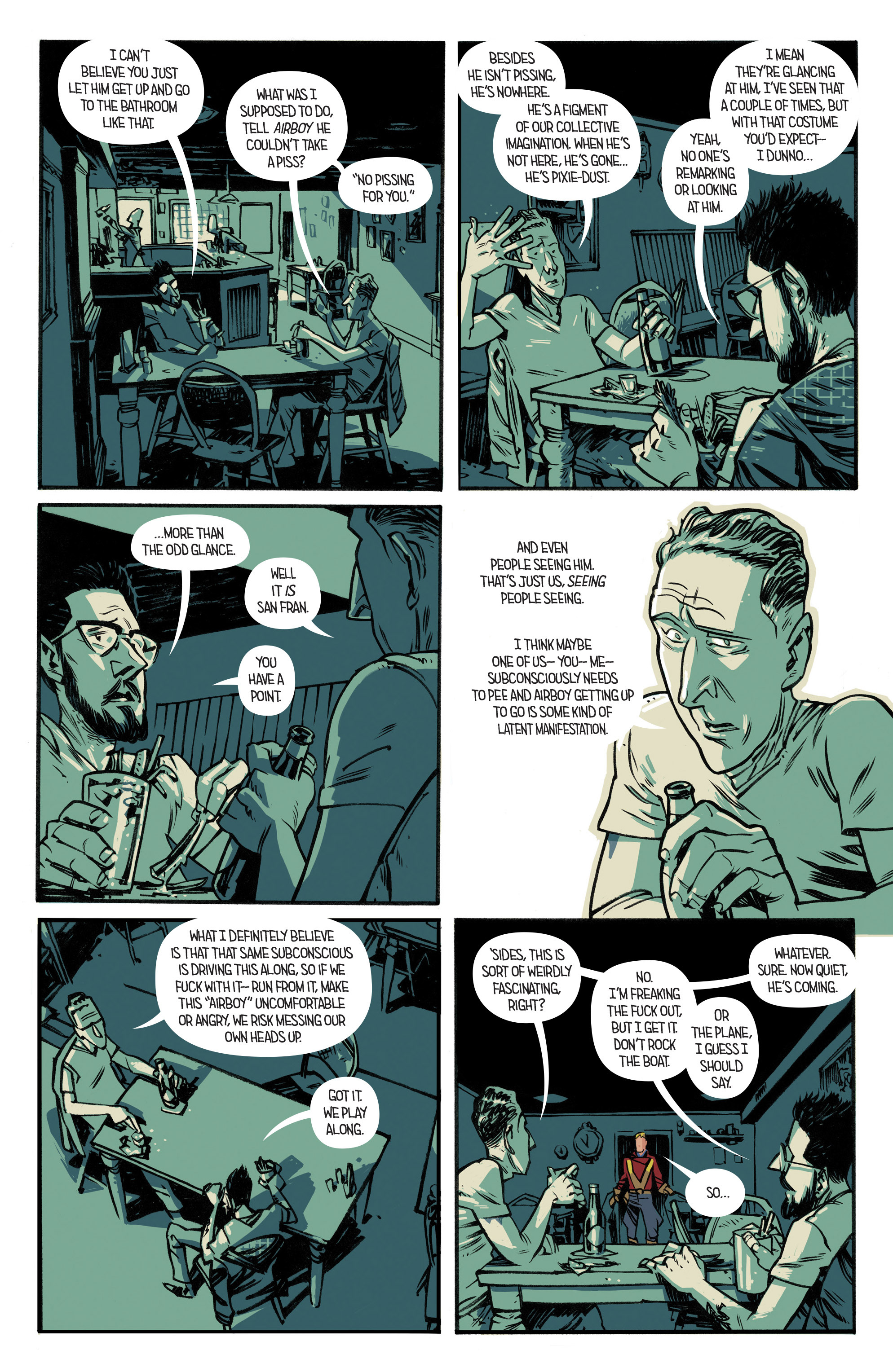 Read online Airboy comic -  Issue #2 - 10