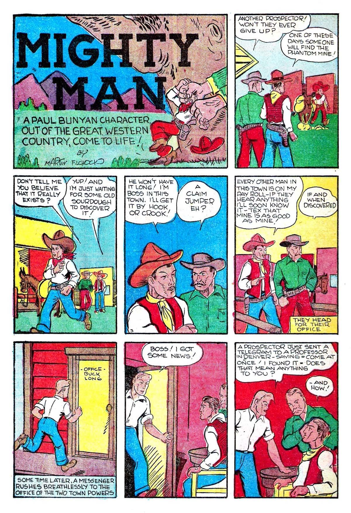 Read online Amazing Man Comics comic -  Issue #5 - 60