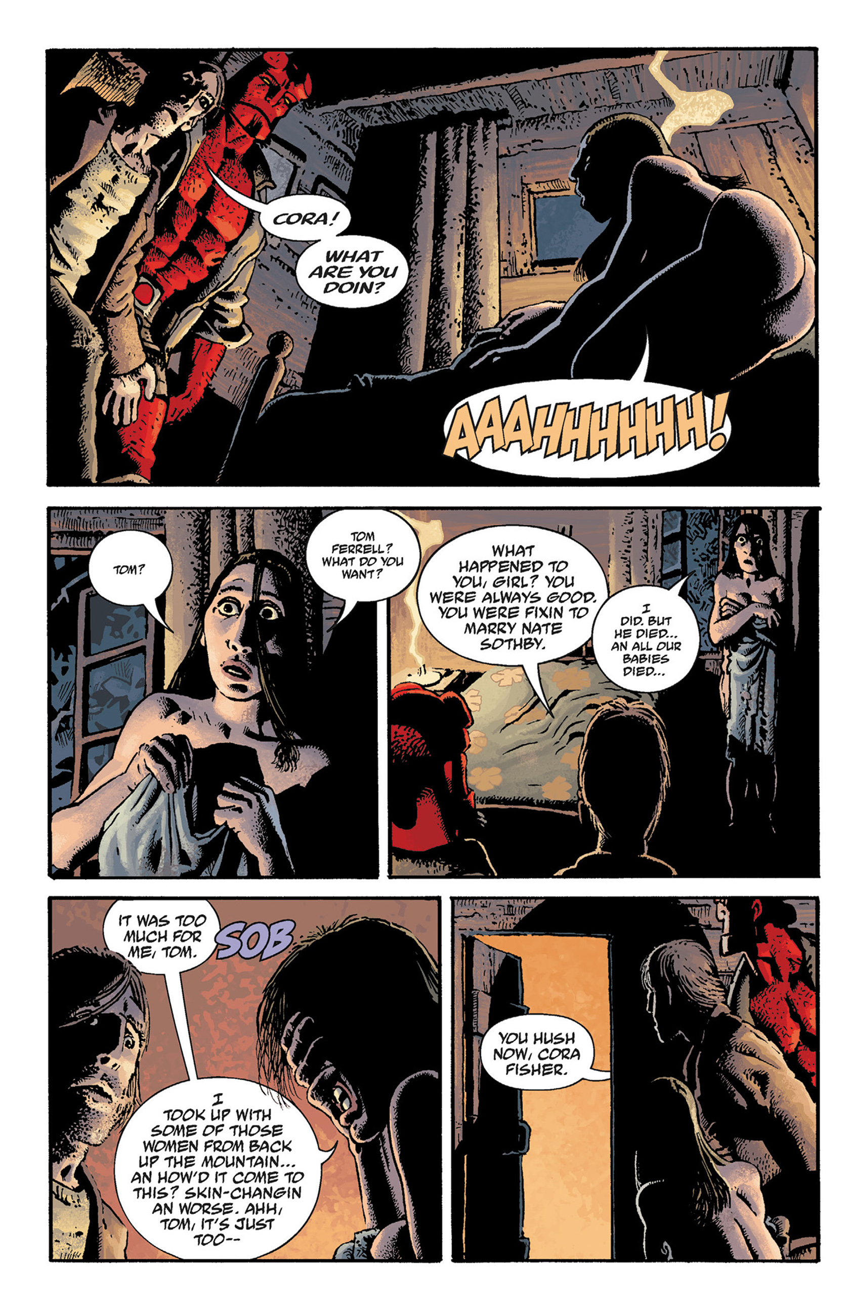 Read online Hellboy: The Crooked Man and Others comic -  Issue # TPB - 26