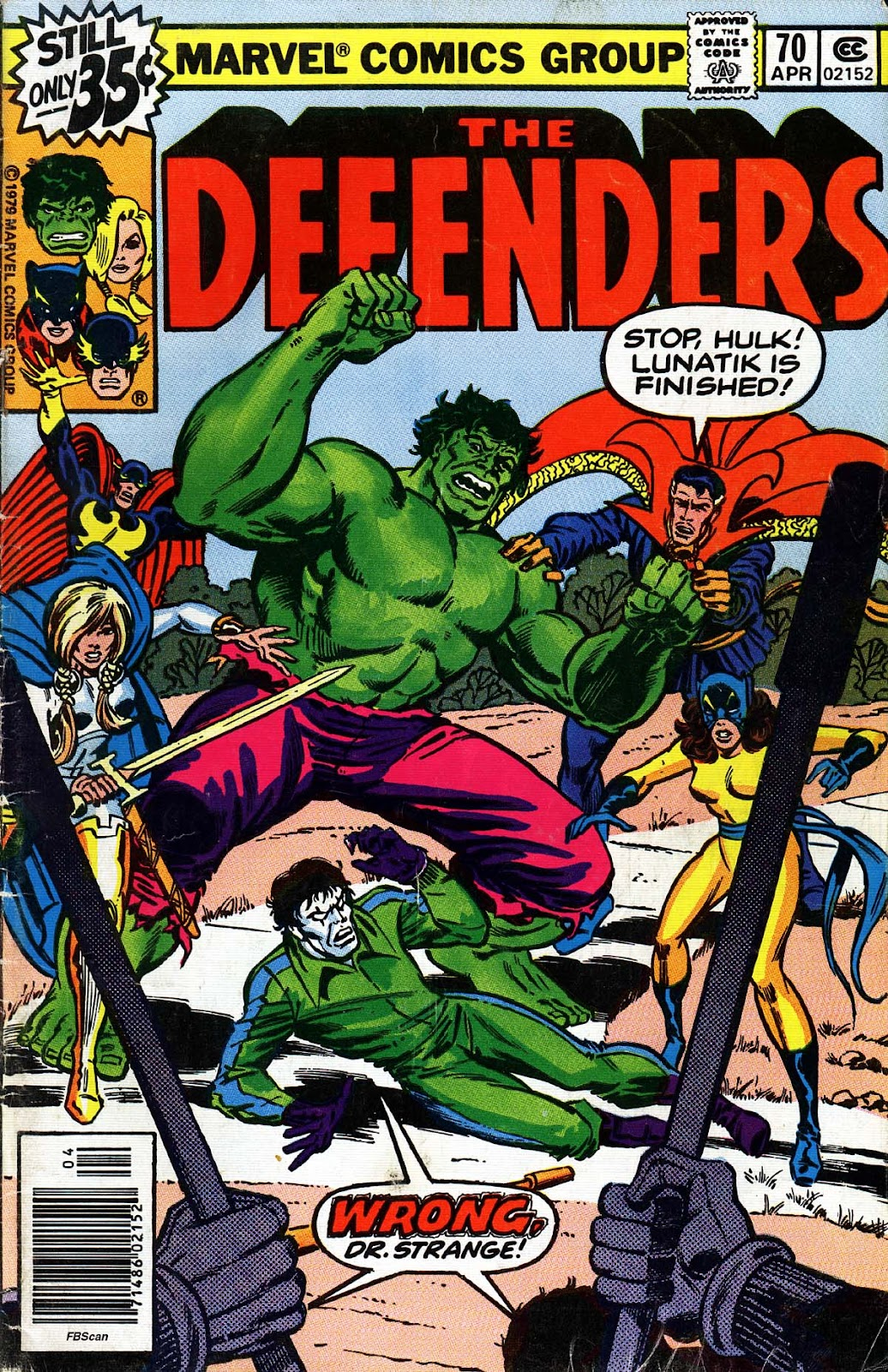 The Defenders (1972) 70 Page 1
