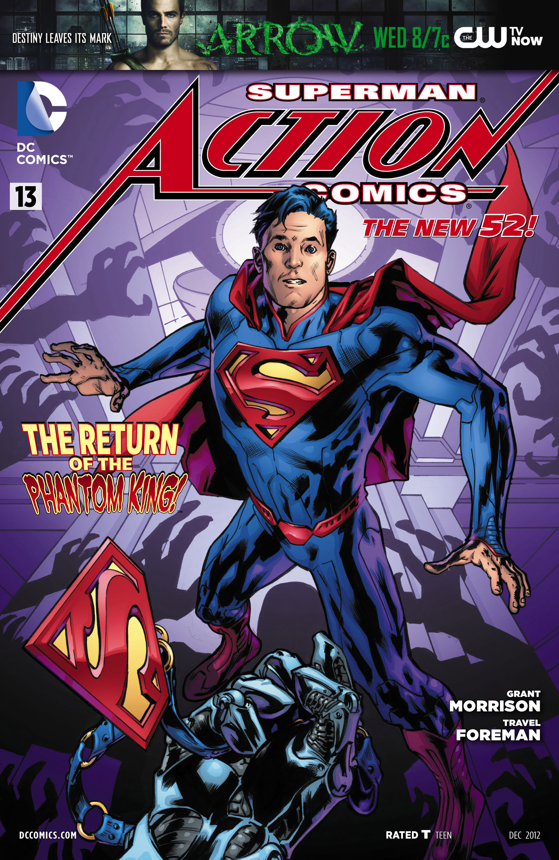 Read online Action Comics (2011) comic -  Issue #13 - 1