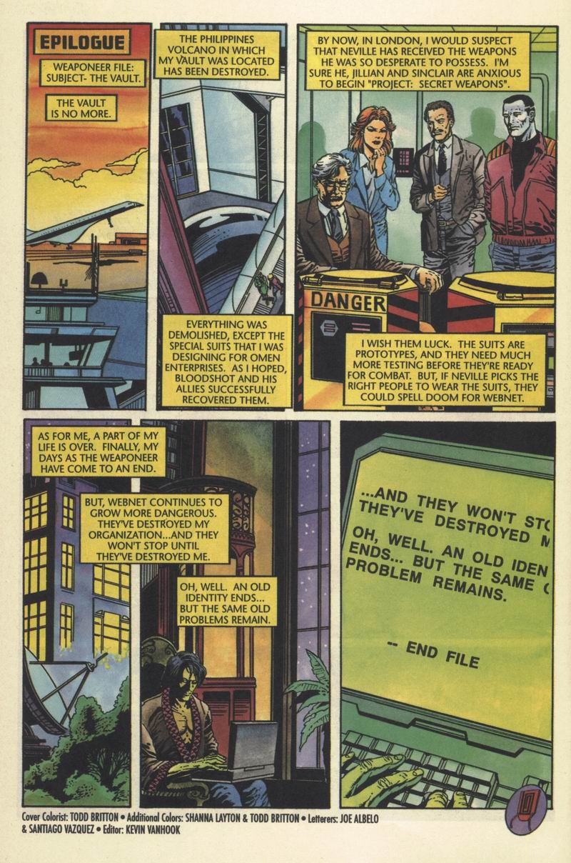 Read online Secret Weapons comic -  Issue #10 - 21