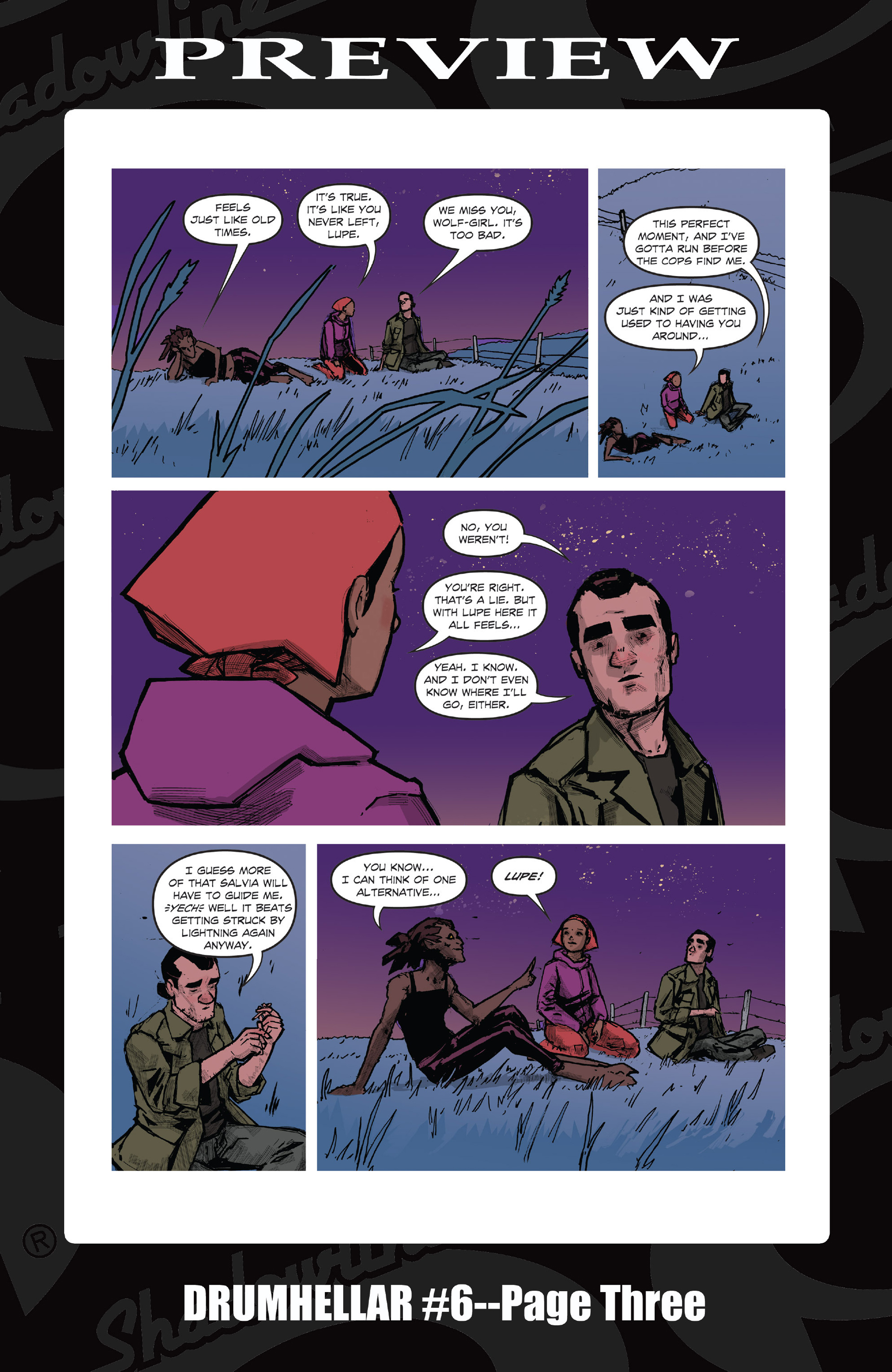 Read online Five Weapons comic -  Issue #9 - 28