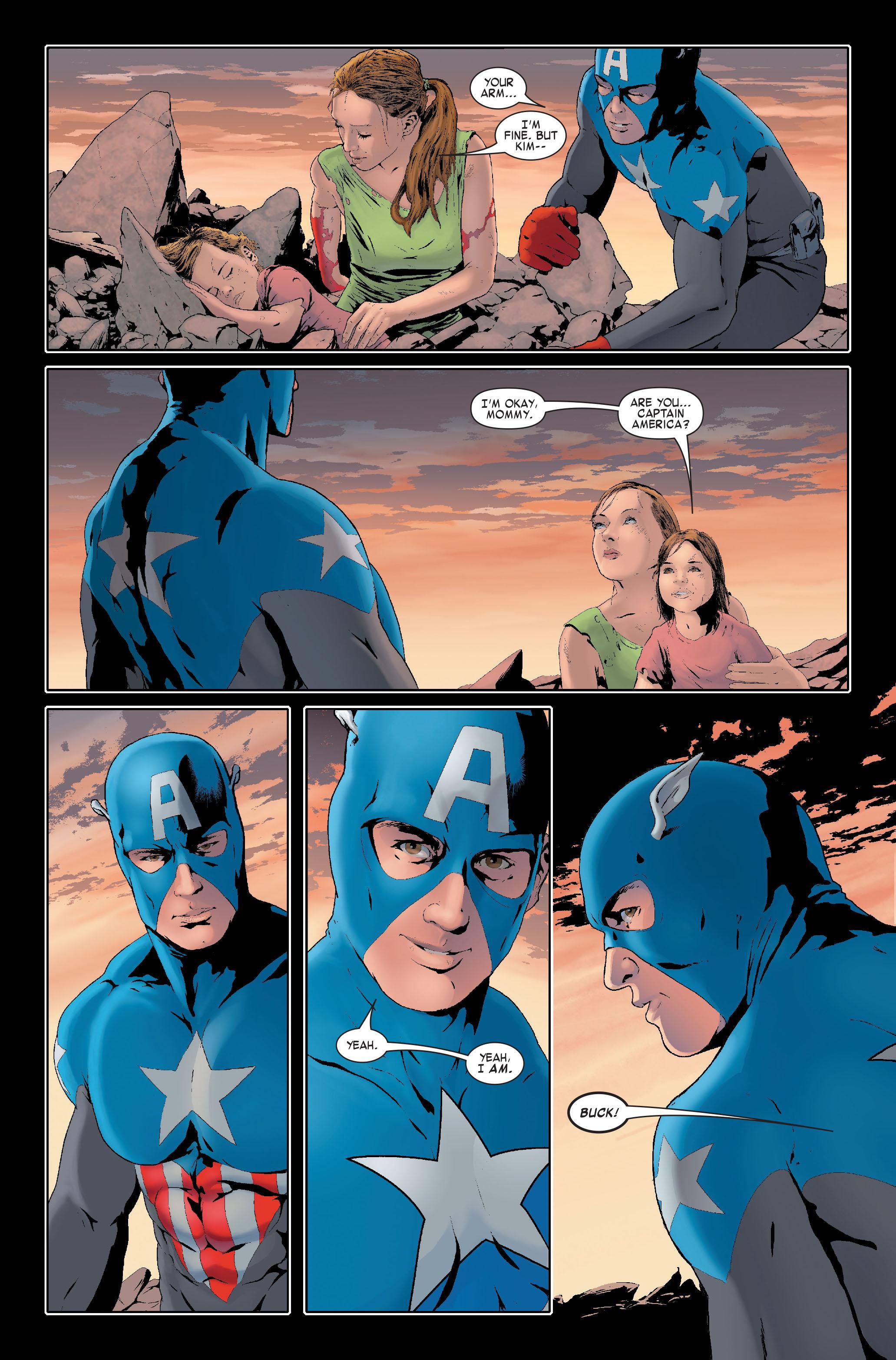Read online Siege: Captain America comic -  Issue # Full - 20