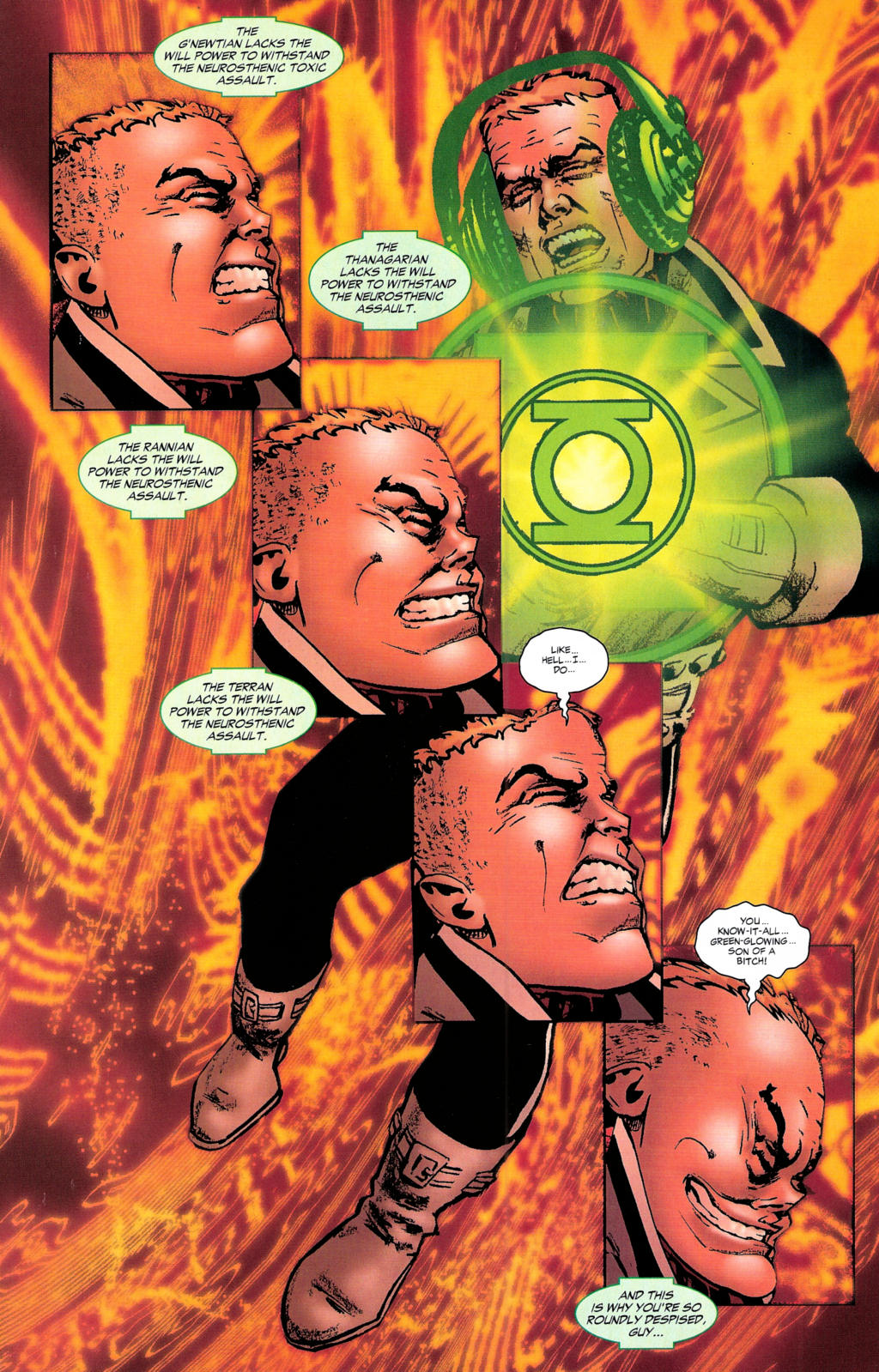 Read online Guy Gardner: Collateral Damage comic -  Issue #2 - 32