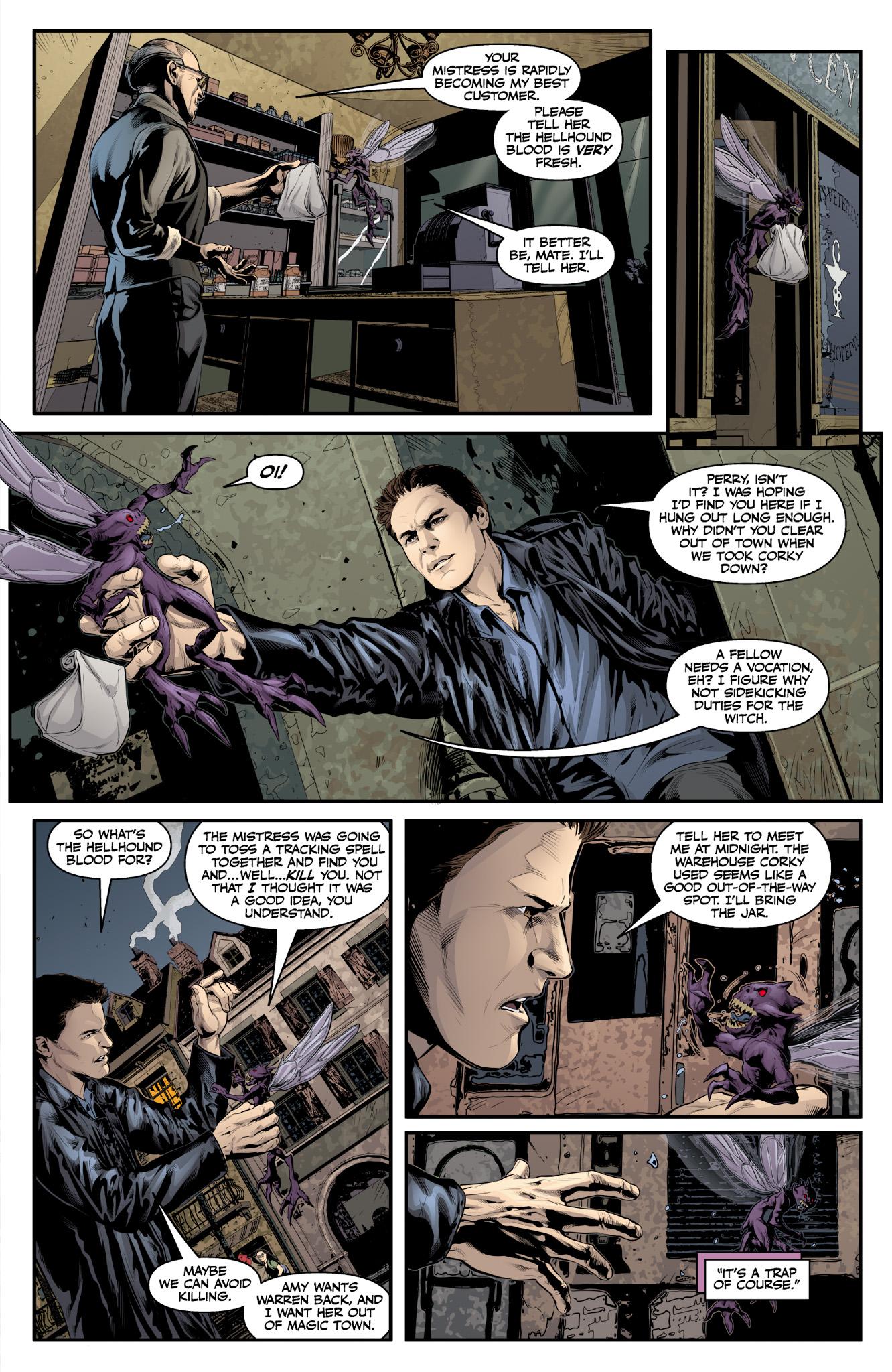 Read online Angel & Faith Season 10 comic -  Issue #9 - 13