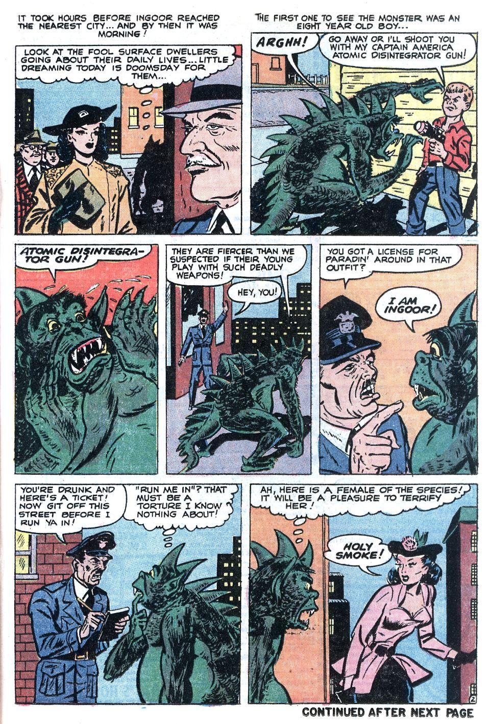 Read online Adventures into Weird Worlds comic -  Issue #12 - 3