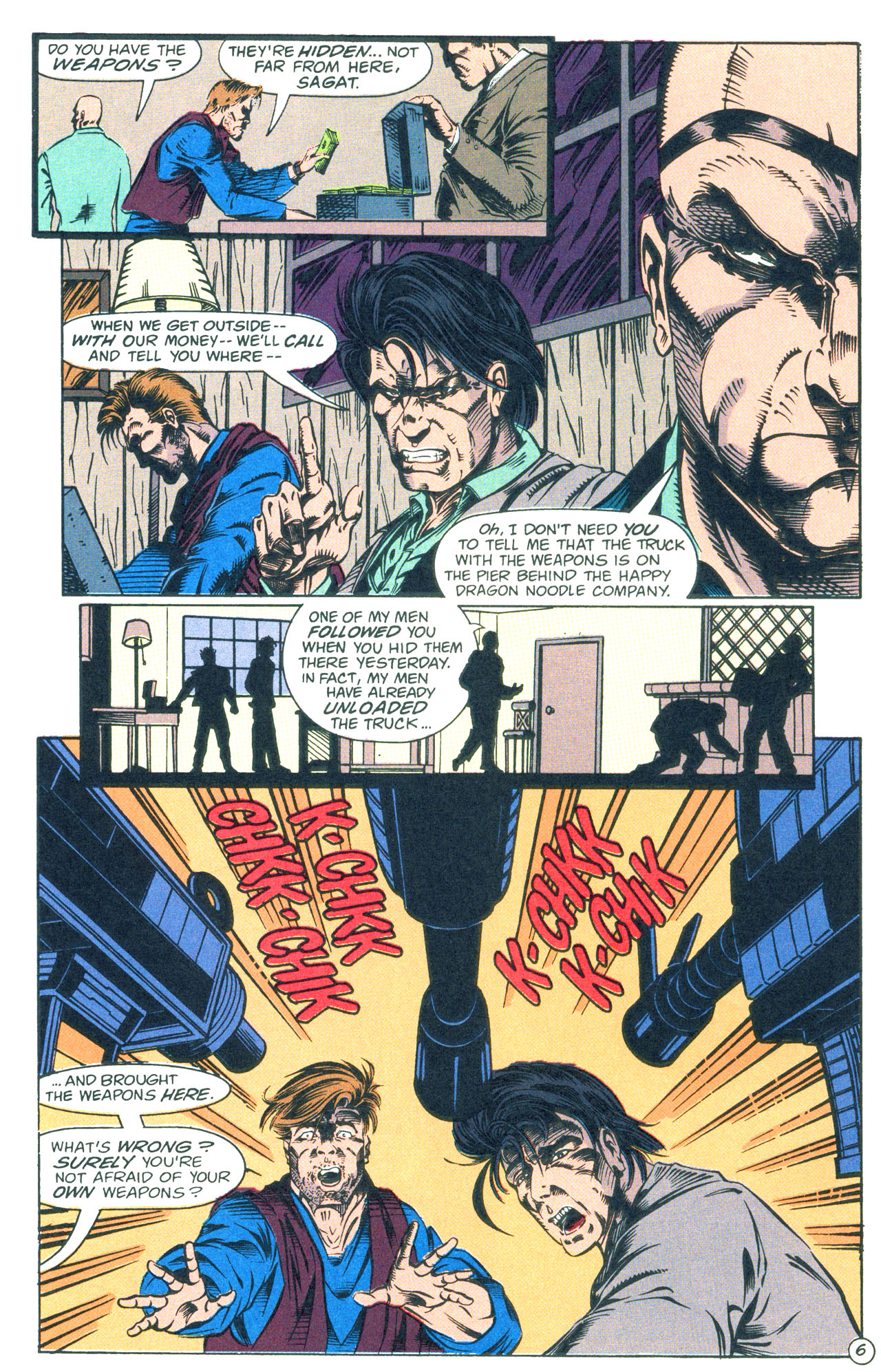 Read online Street Fighter: The Battle For Shadaloo comic -  Issue # Full - 7