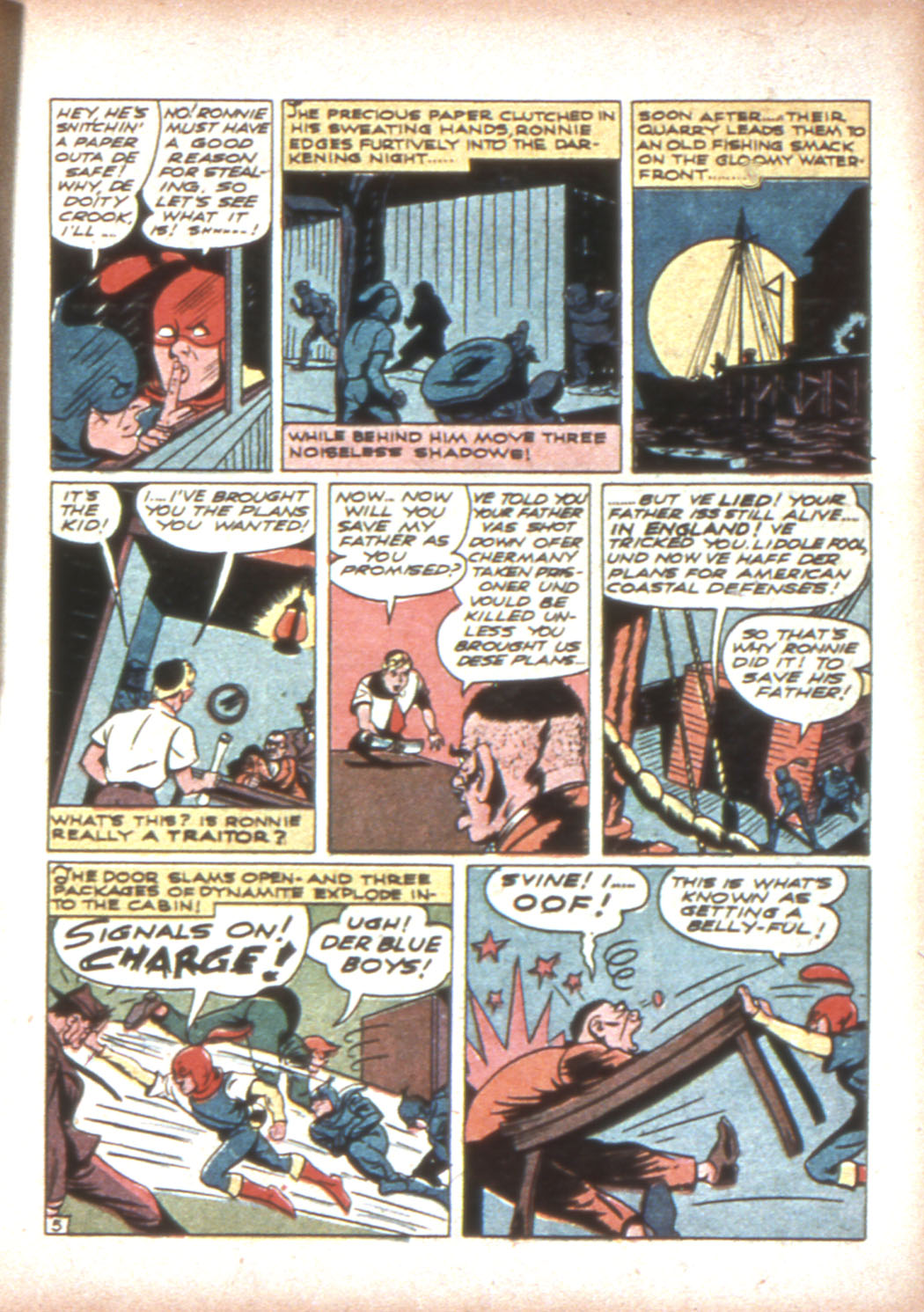 Read online Sensation (Mystery) Comics comic -  Issue #17 - 21