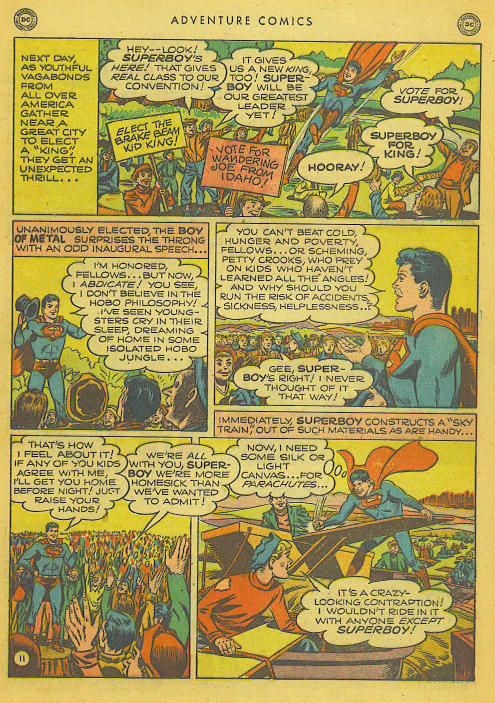 Read online Adventure Comics (1938) comic -  Issue #153 - 12