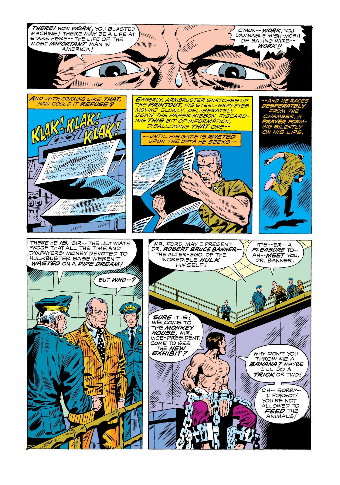Read online Marvel Masterworks: The Incredible Hulk comic -  Issue # TPB 11 (Part 1) - 34