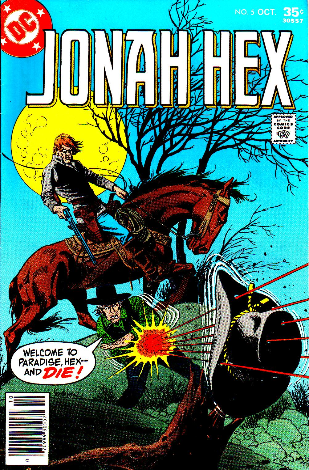 Jonah Hex (1977) 5 Page 1