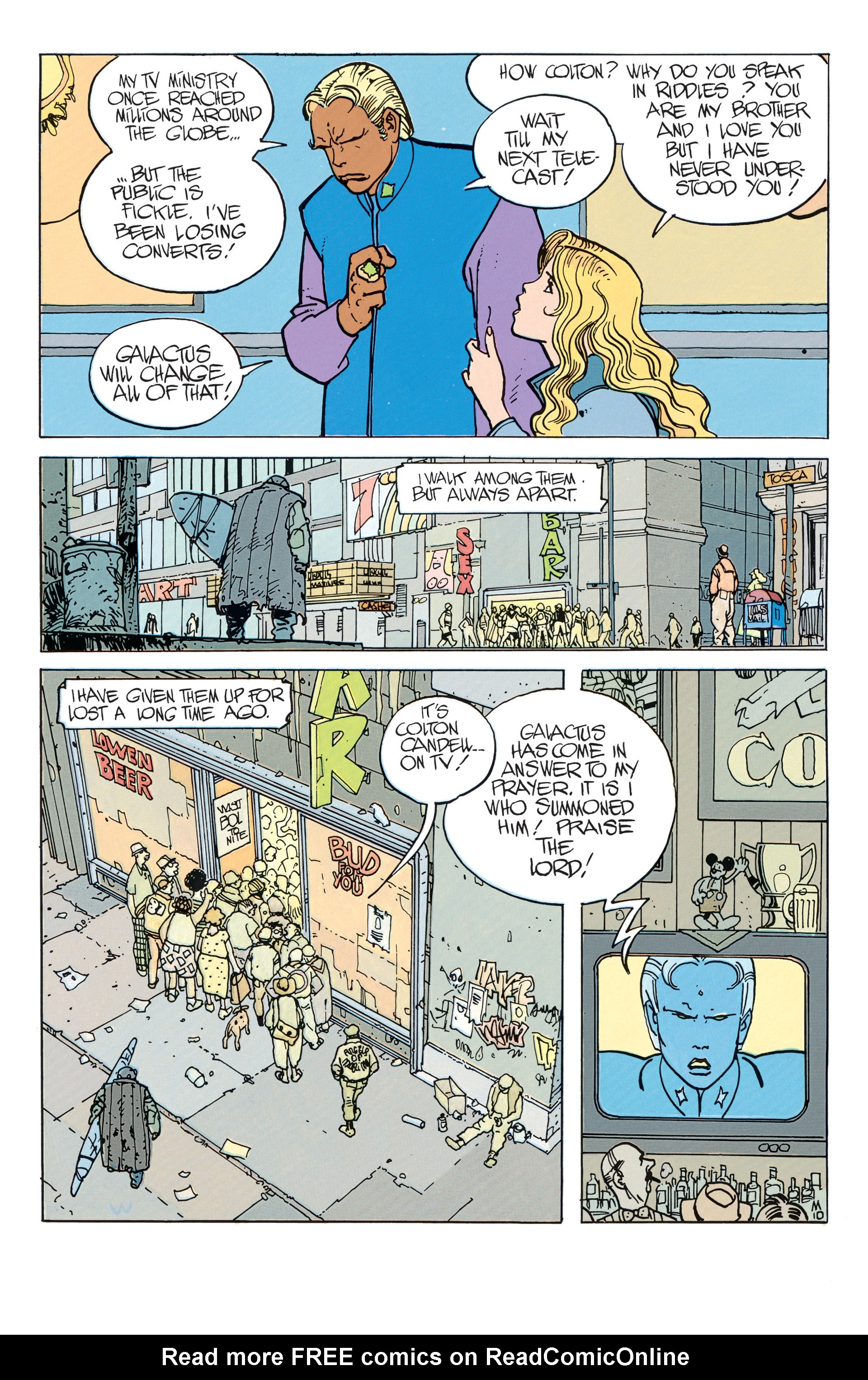 Read online Silver Surfer (1988) comic -  Issue #1 - 13