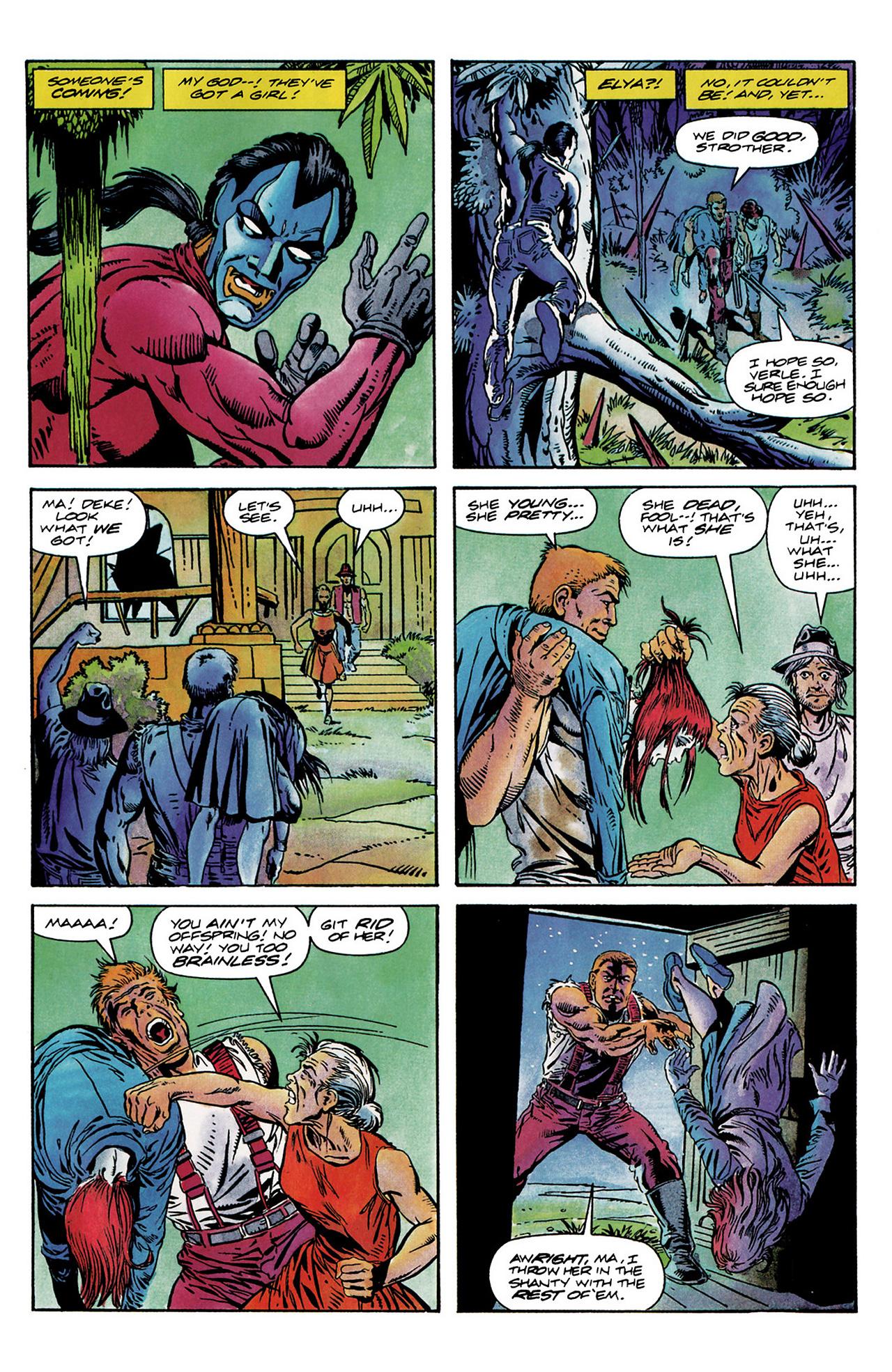 Read online Shadowman (1992) comic -  Issue #6 - 15