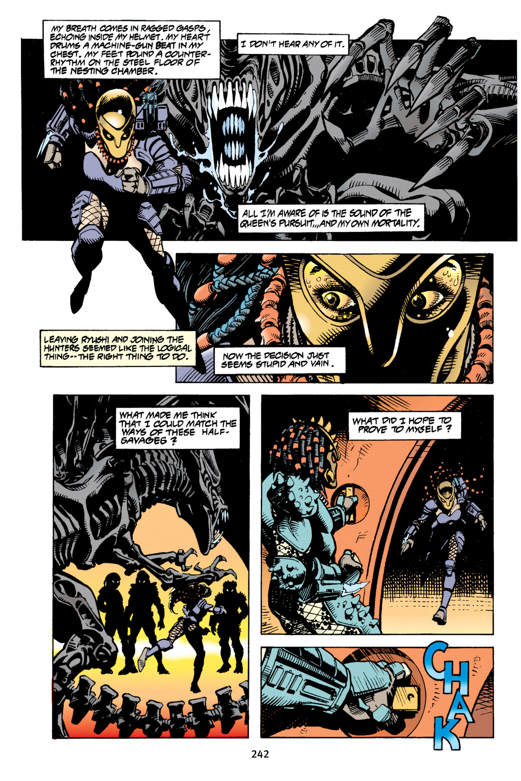 Read online Aliens vs. Predator Omnibus comic -  Issue # _TPB 1 Part 3 - 34