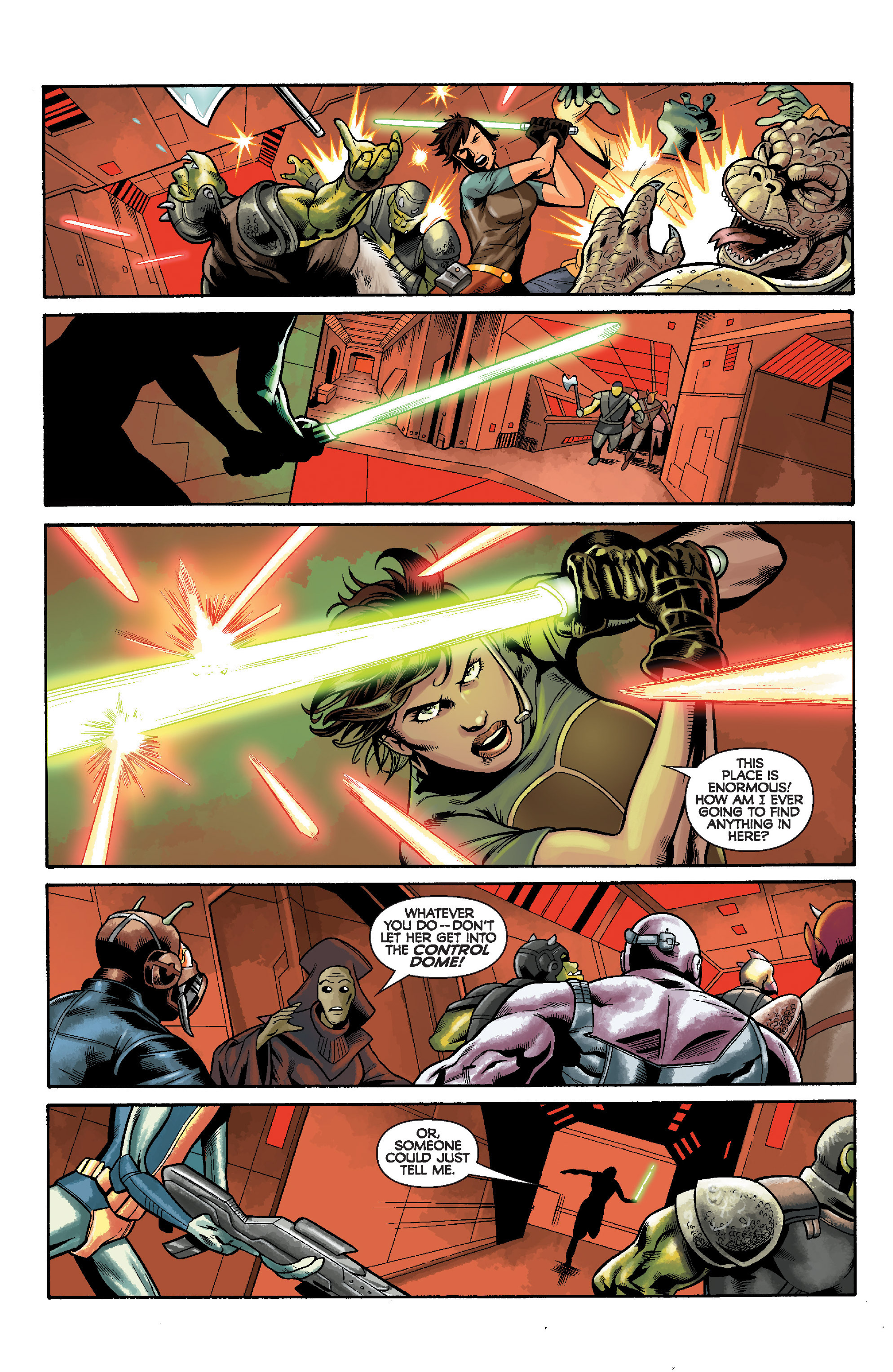 Read online Star Wars: Knight Errant - Deluge comic -  Issue #5 - 10