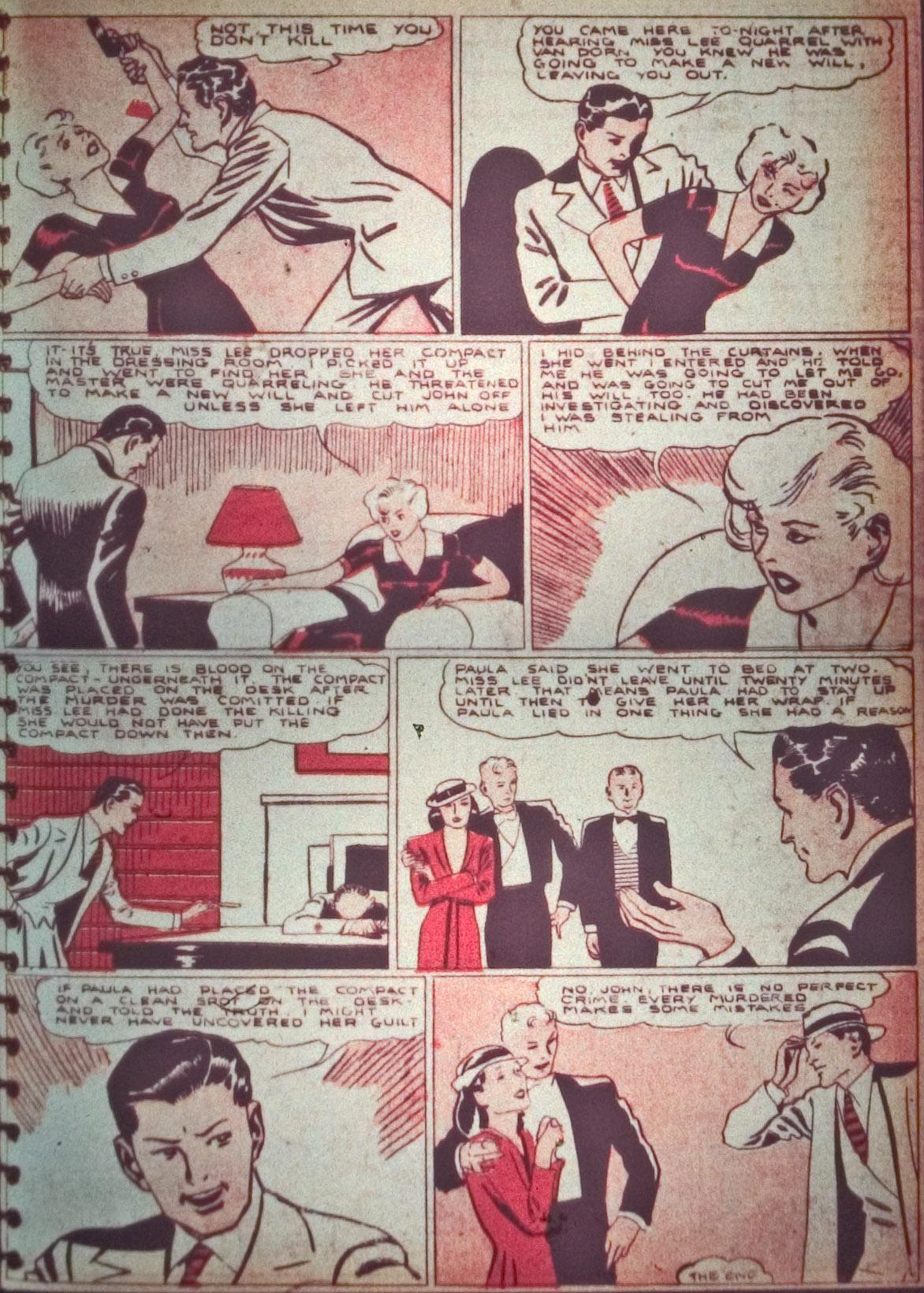 Read online Detective Comics (1937) comic -  Issue #26 - 21