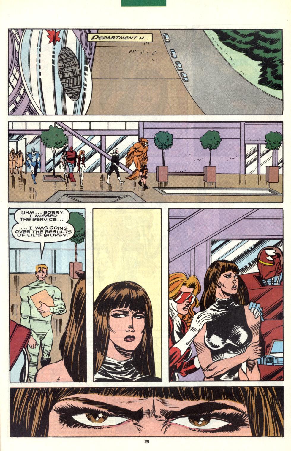 Read online Alpha Flight (1983) comic -  Issue #101 - 23