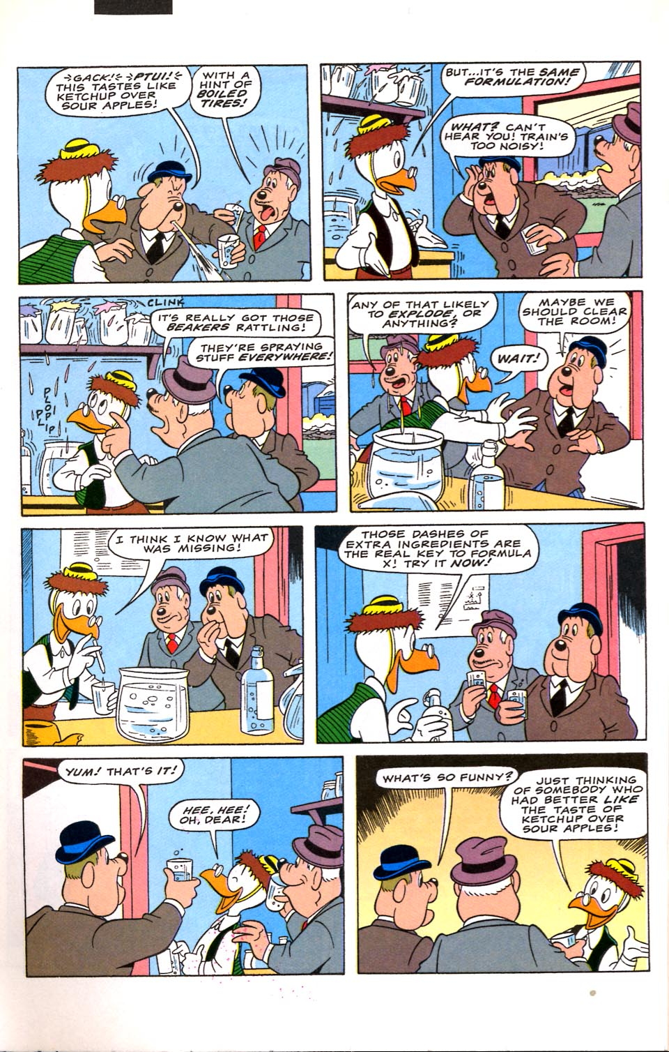 Read online Uncle Scrooge (1953) comic -  Issue #282 - 17