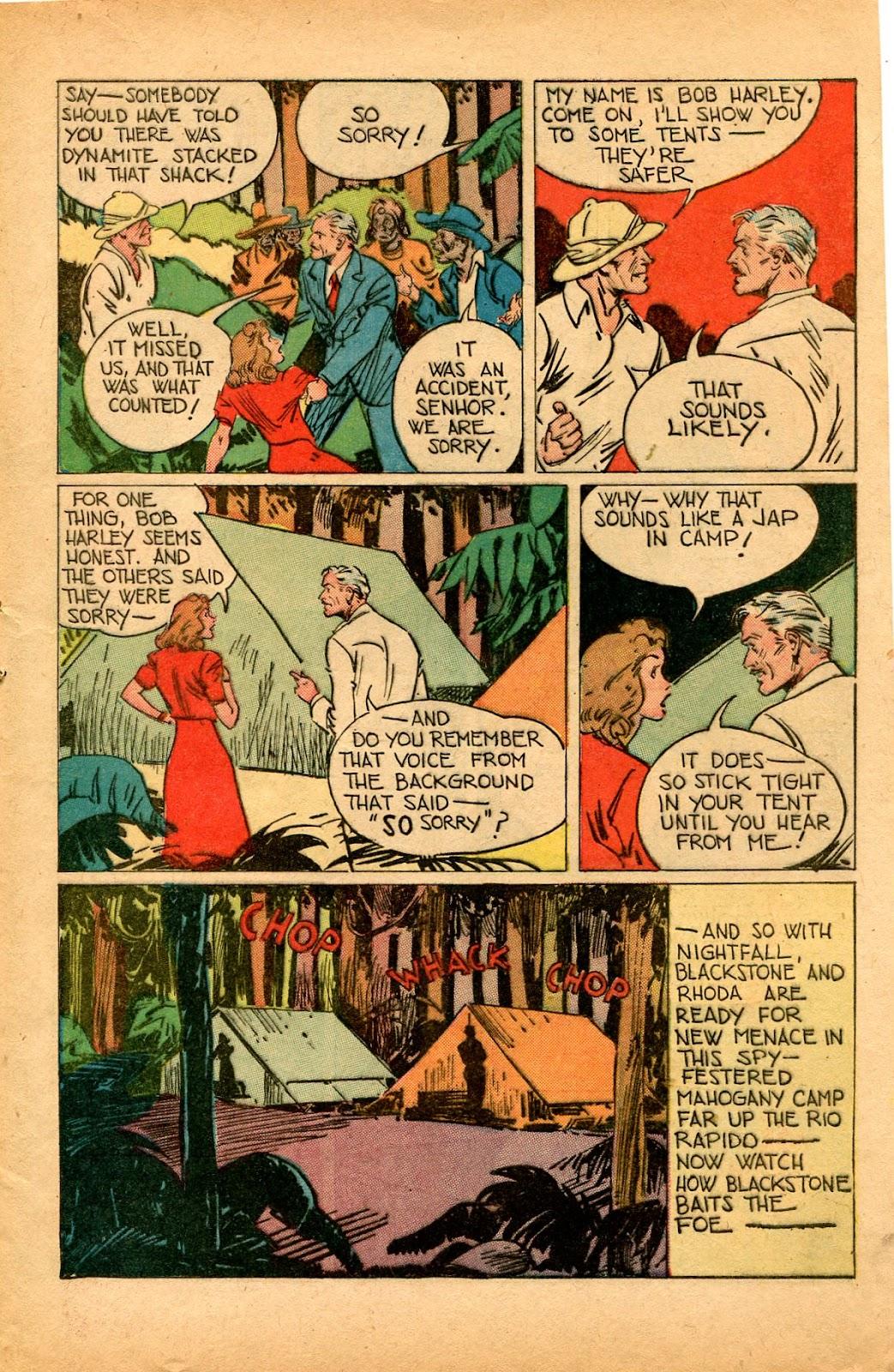 Read online Super-Magician Comics comic -  Issue #33 - 9