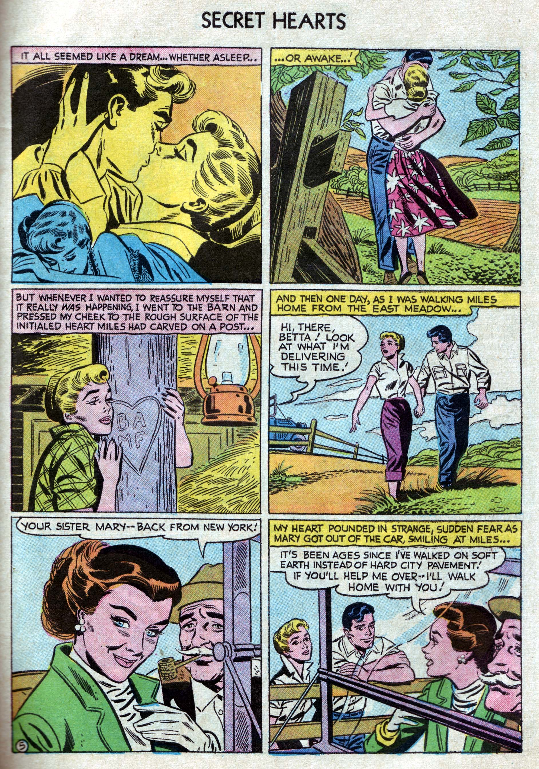 Read online Secret Hearts comic -  Issue #33 - 31