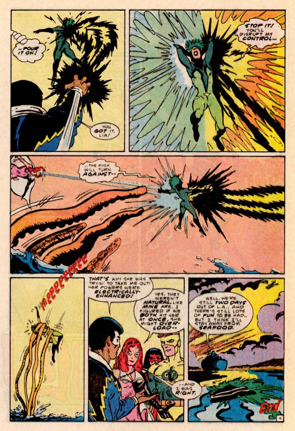 Read online Adventures of the Outsiders comic -  Issue #38 - 12