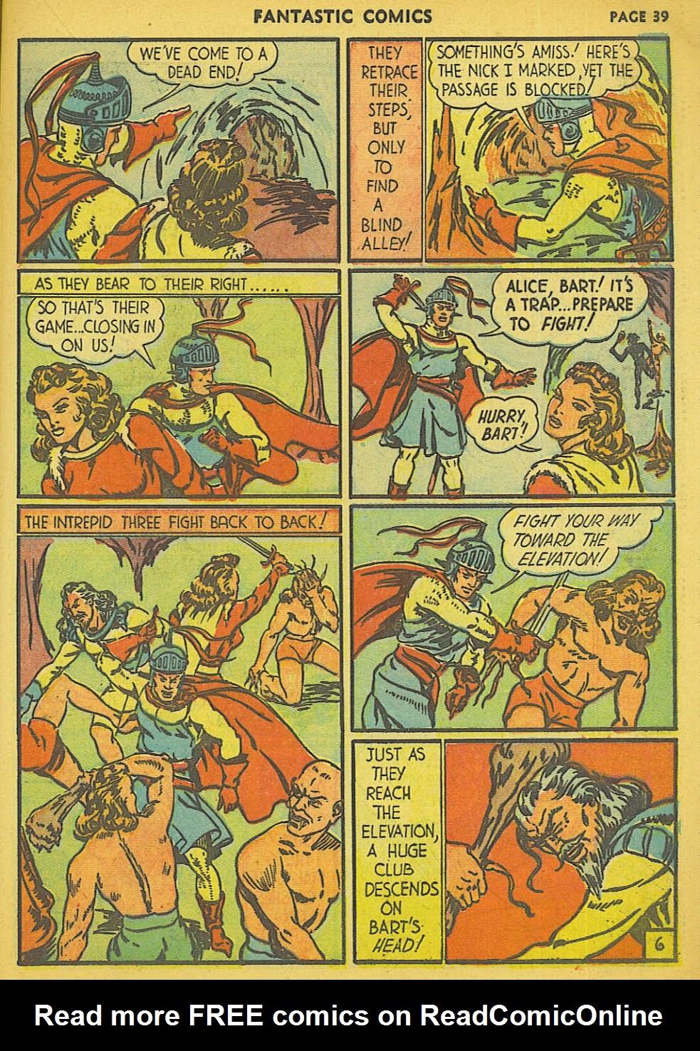 Read online Fantastic Comics comic -  Issue #15 - 32