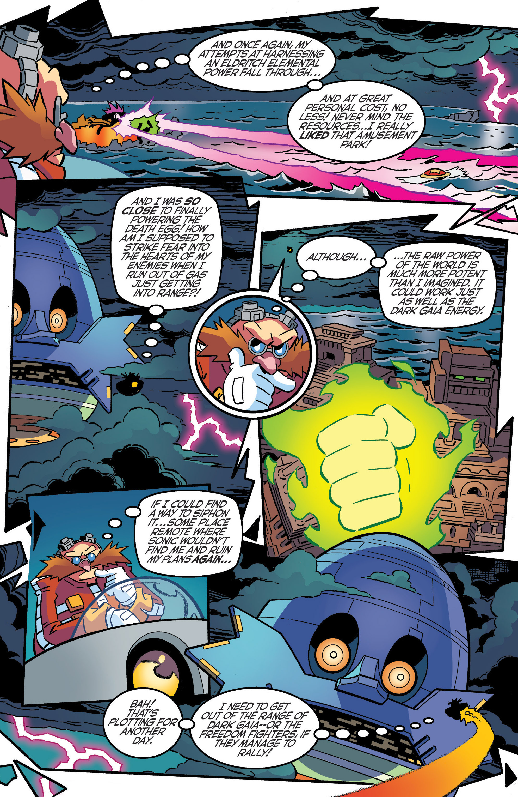 Read online Sonic The Hedgehog comic -  Issue #287 - 12