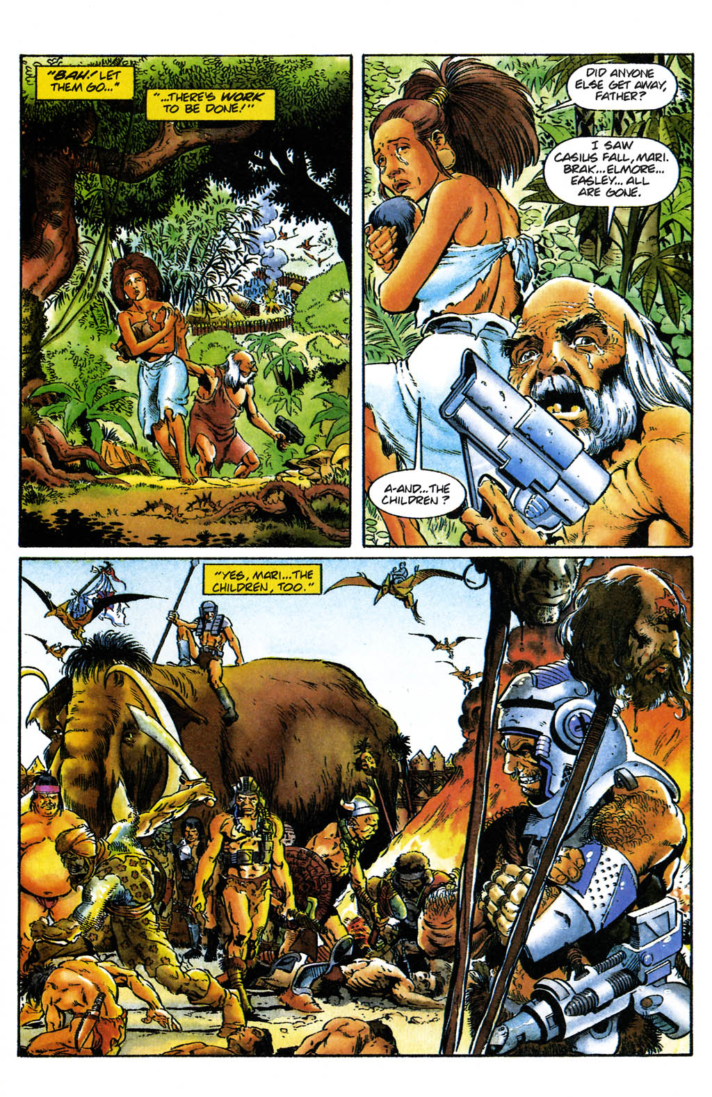 Read online Turok, Dinosaur Hunter (1993) comic -  Issue #24 - 18