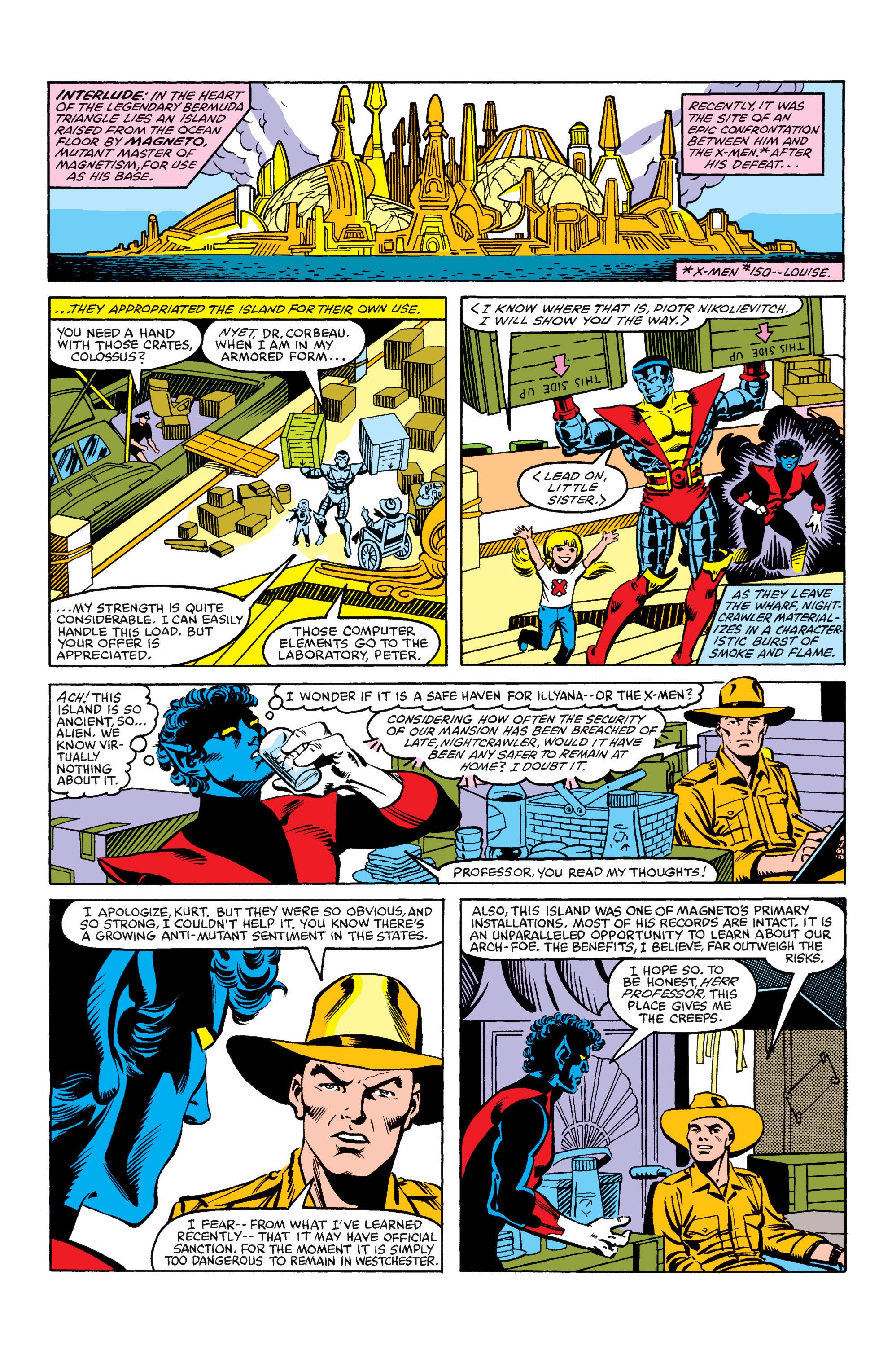 Read online Uncanny X-Men (1963) comic -  Issue #154 - 6