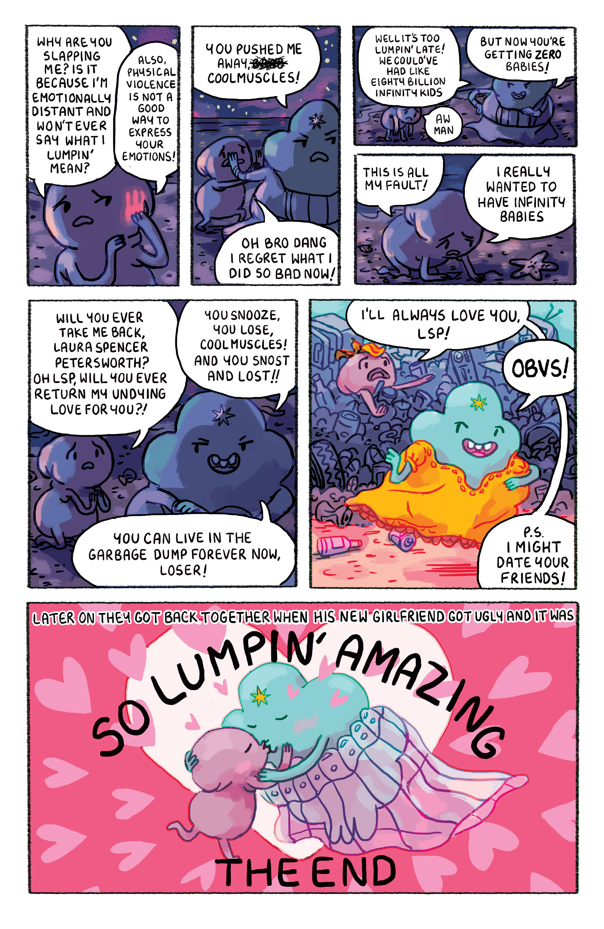 Read online Adventure Time comic -  Issue #30 - 14