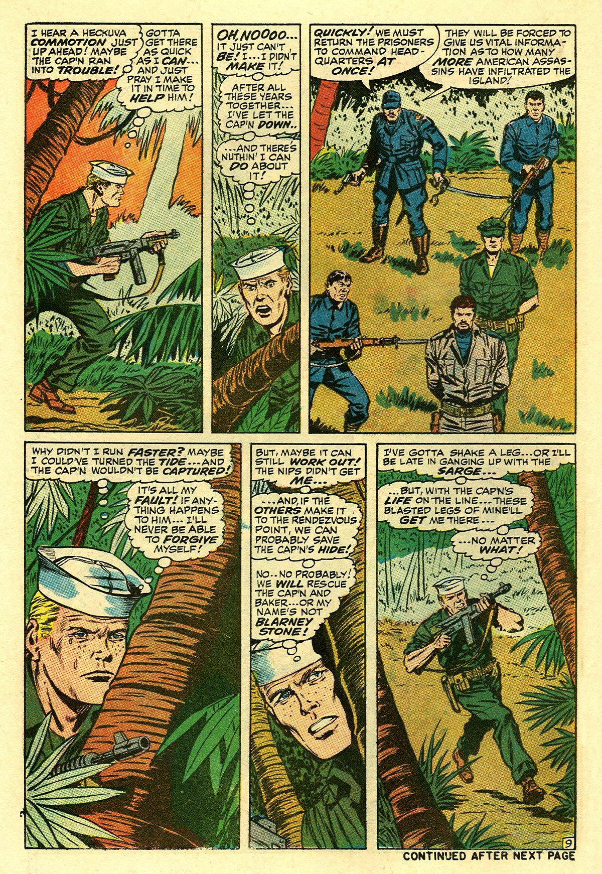 Captain Savage and his Leatherneck Raiders issue 8 - Page 14