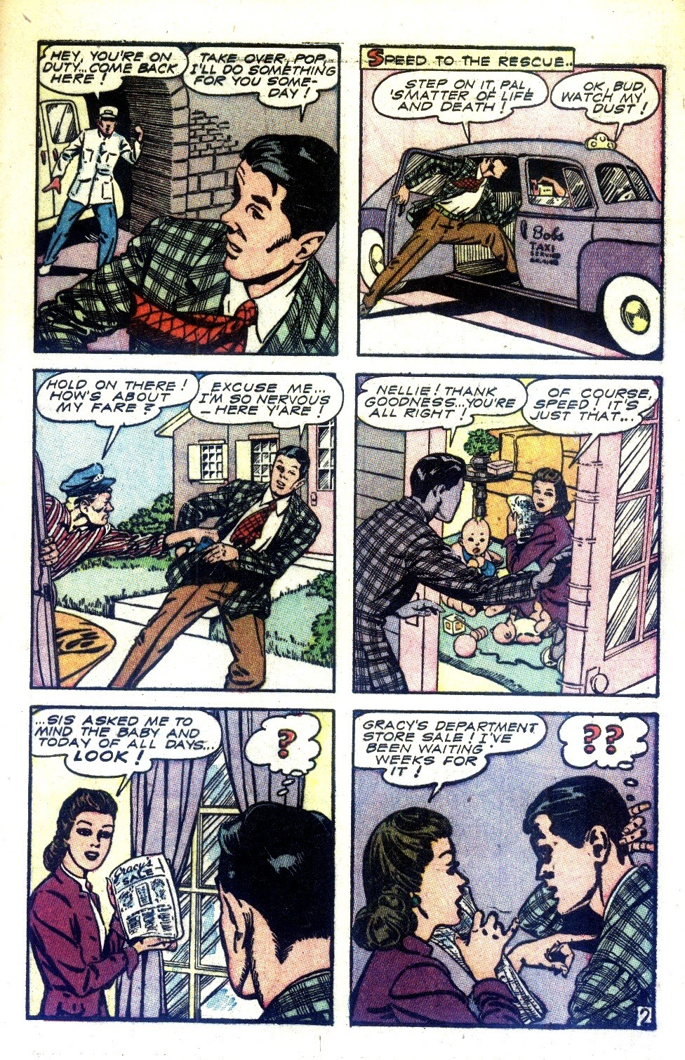 Read online Nellie The Nurse (1945) comic -  Issue #2 - 11