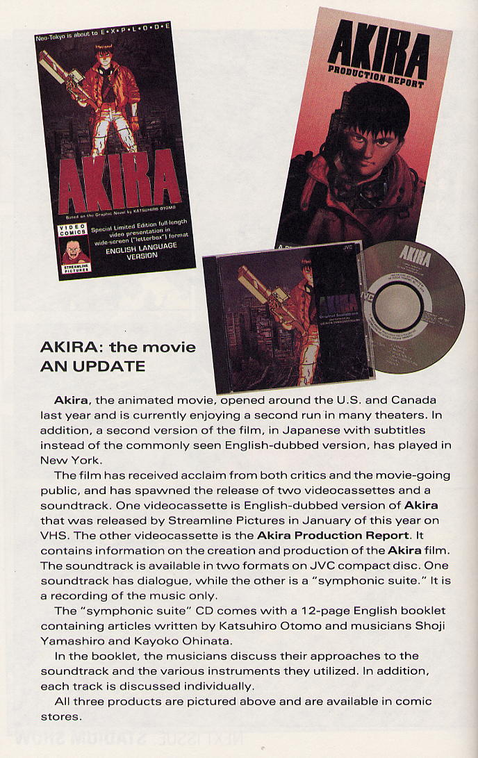 Read online Akira comic -  Issue #30 - 64