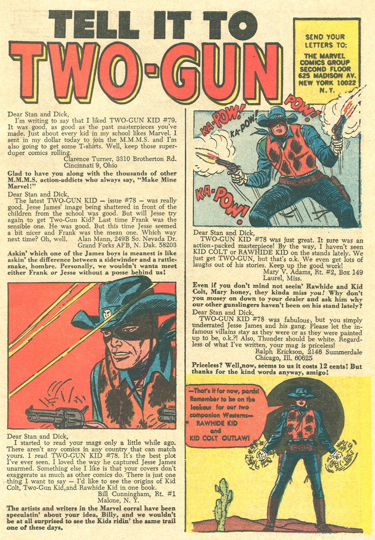 Read online Two-Gun Kid comic -  Issue #81 - 33