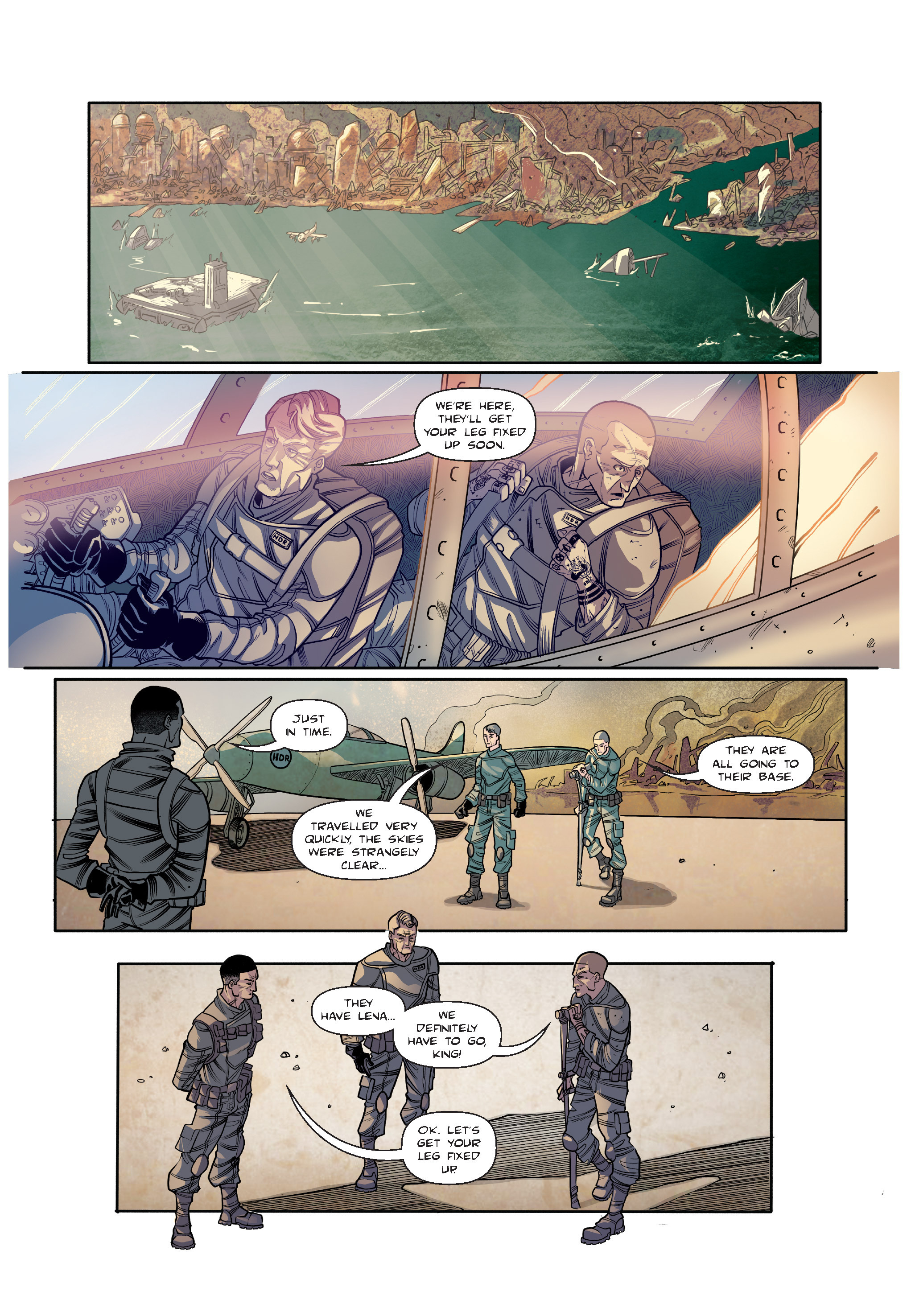 Read online The Shadow of a Terrible Thing comic -  Issue # TPB - 100