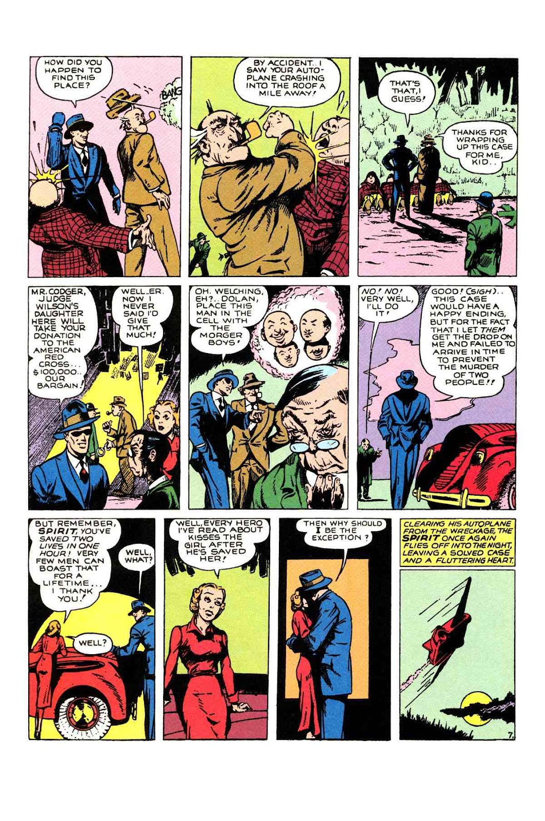 Read online Will Eisner's The Spirit Archives comic -  Issue # TPB 1 (Part 1) - 85