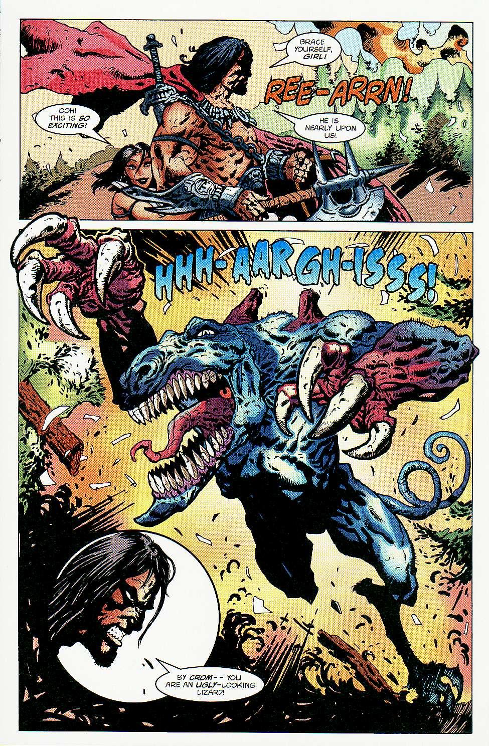 Read online Conan: Return of Styrm comic -  Issue #3 - 9