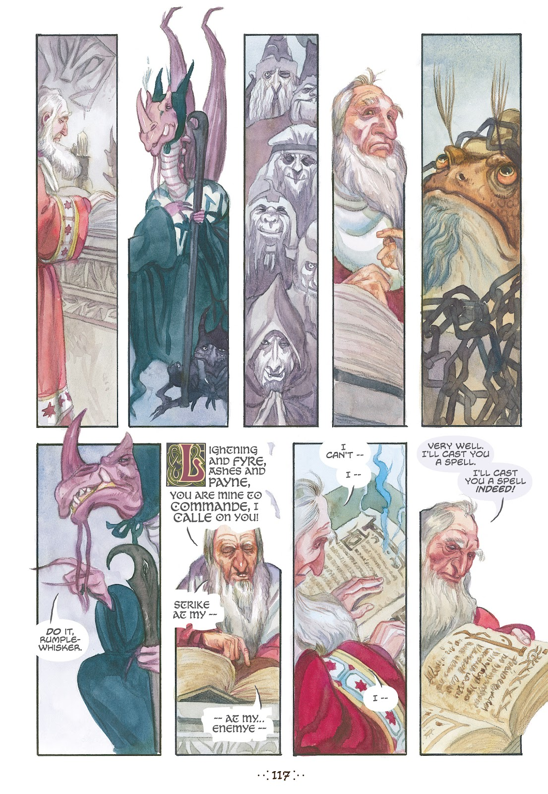 Read online The Wizard's Tale comic -  Issue # TPB - 111