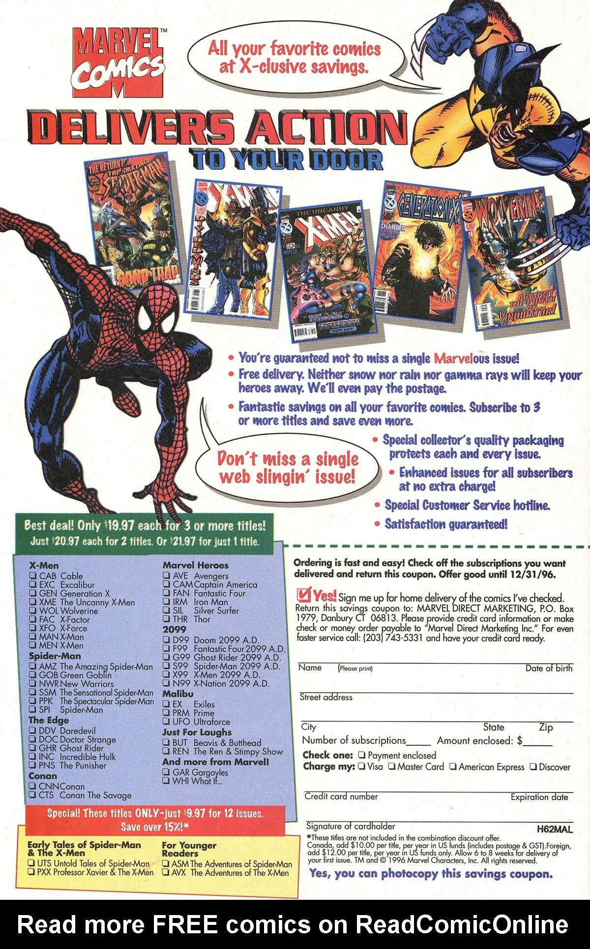 Read online UltraForce (1995) comic -  Issue #5 - 31