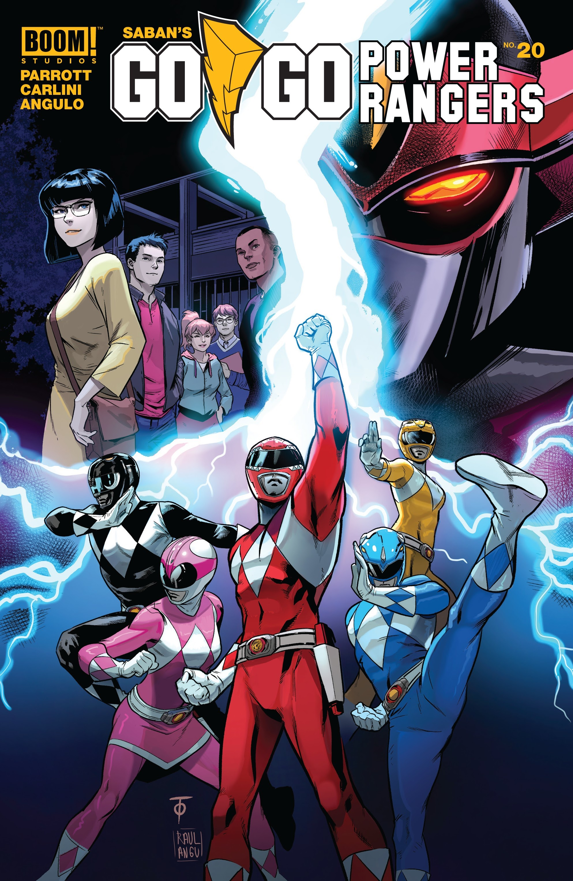 Sabans Go Go Power Rangers 20 Page 1