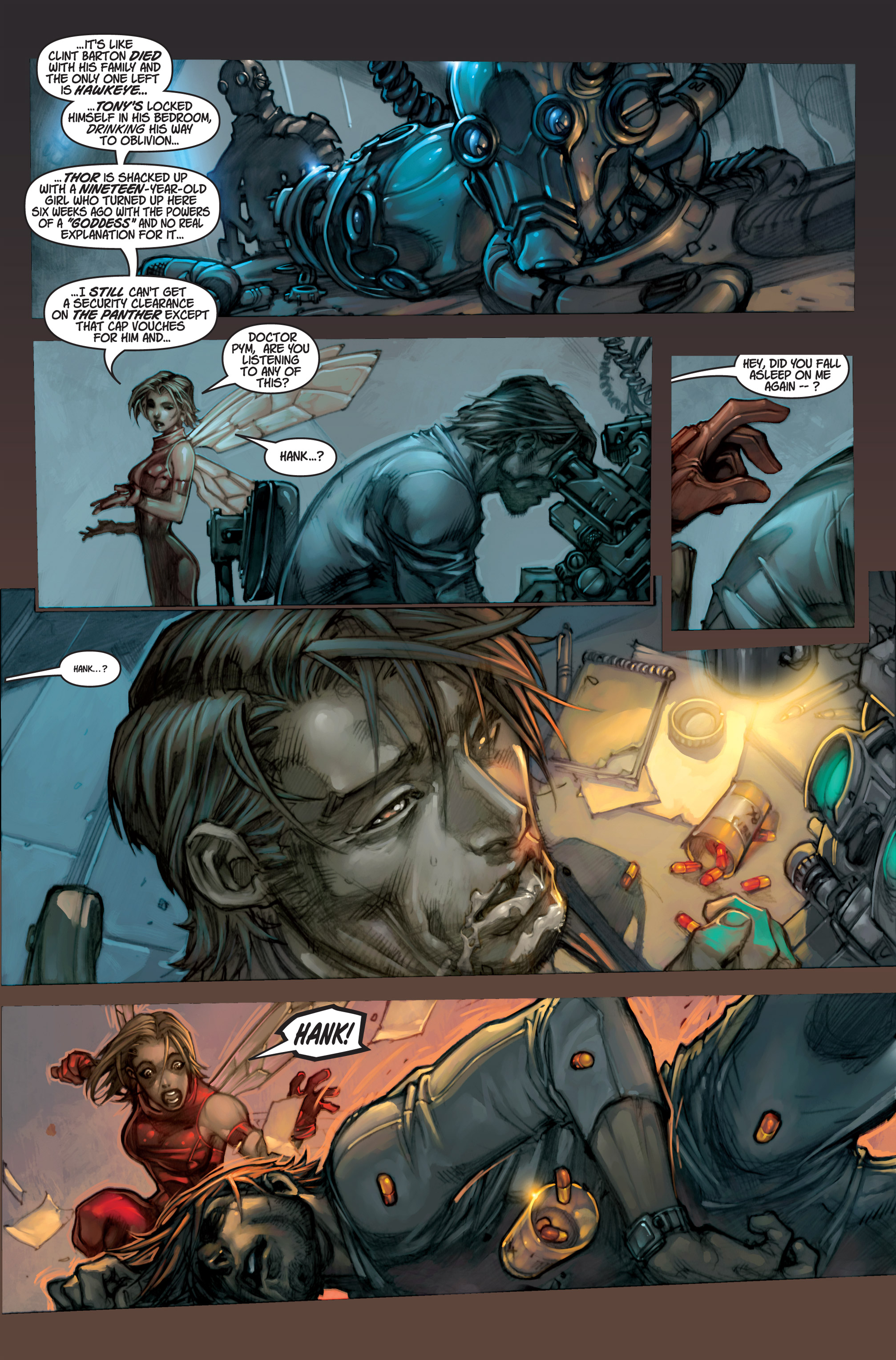 Read online Ultimates 3 comic -  Issue #1 - 16